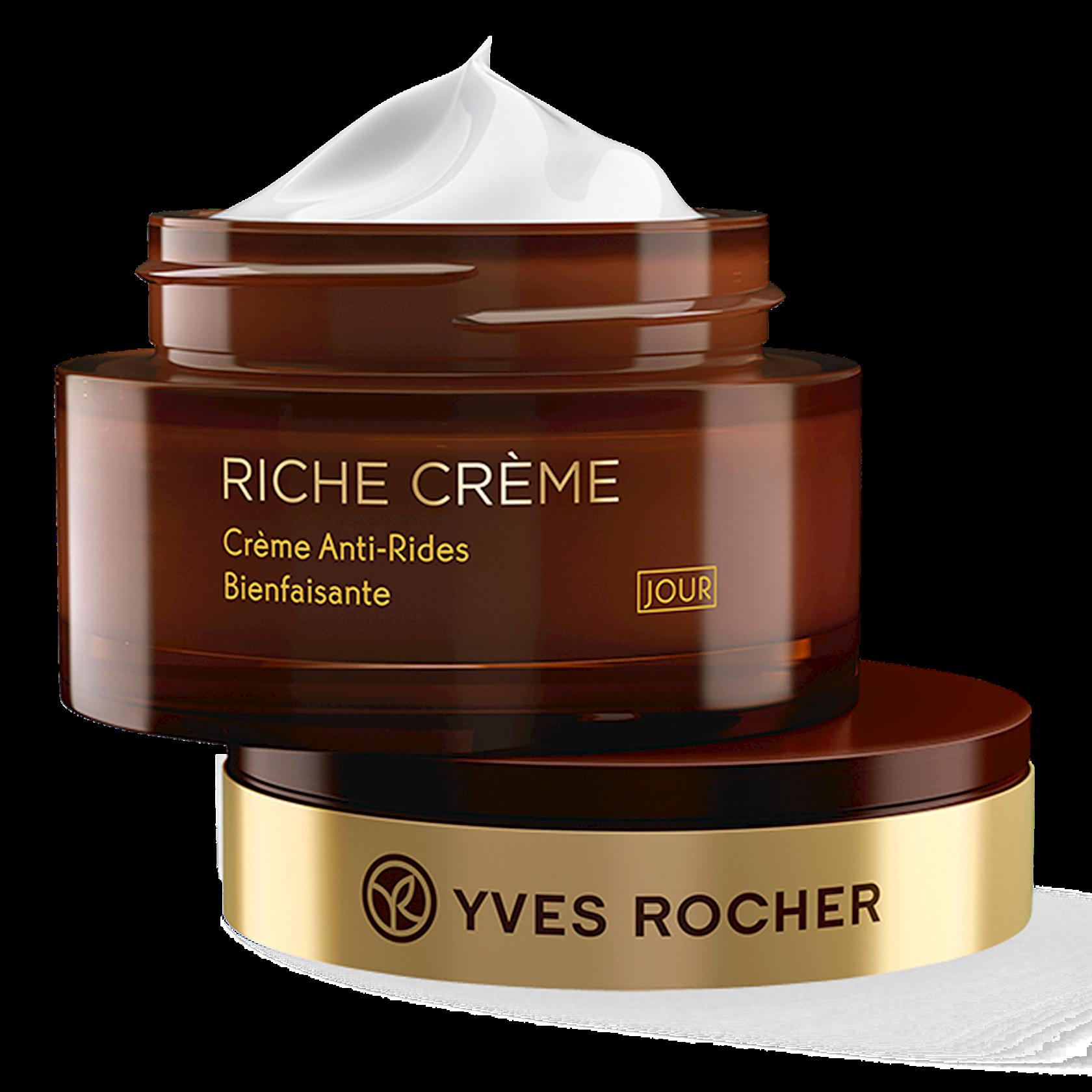 Gündüz üz kremi Yves Rocher Conforting Anti Wrinkle Day Cream 50 ml