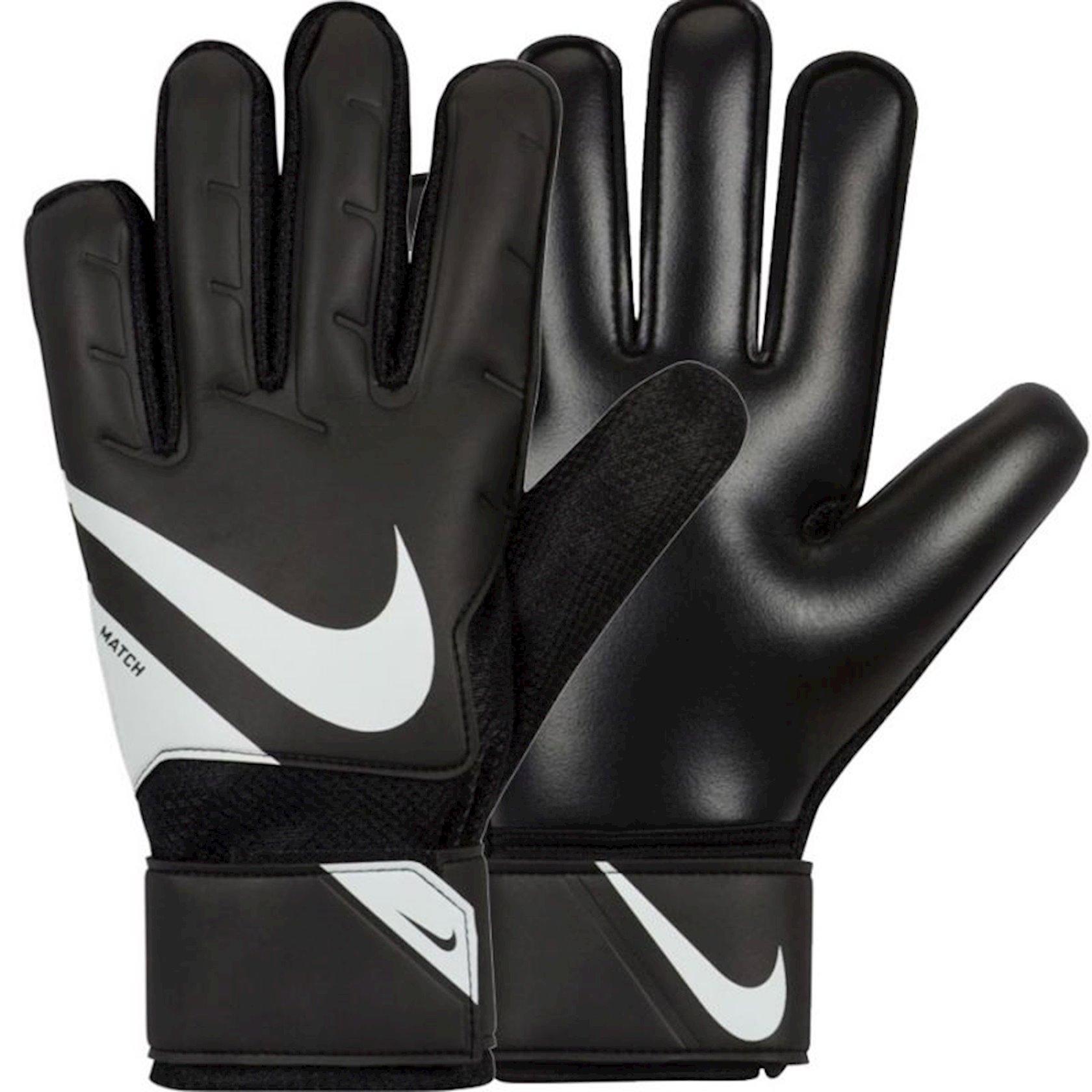 Qapıçı əlcəyi Nike Goalkeeper Match Gloves FA20, Kişilər üçün, Qara/ağ, Ölçü 9