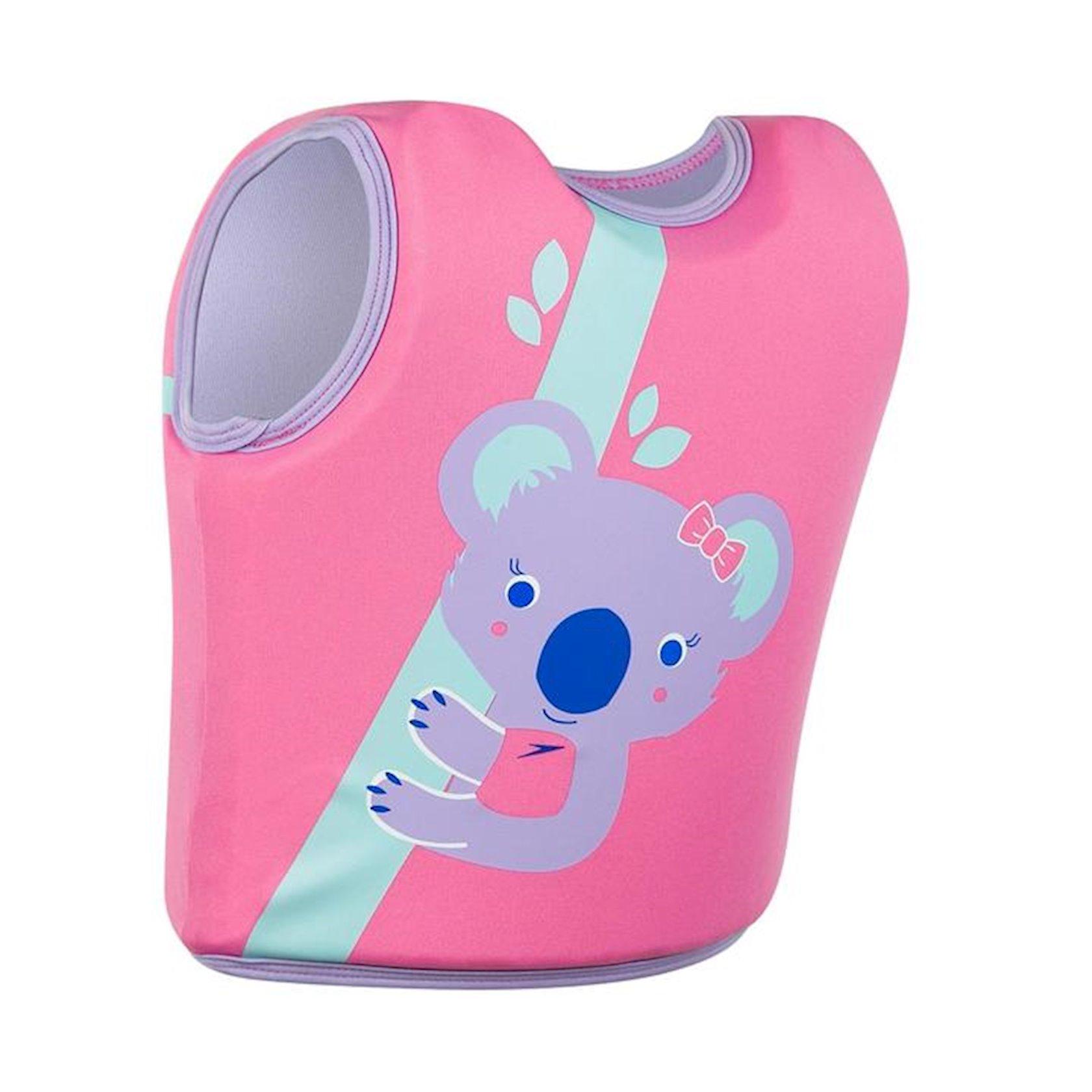 Üzmək gödəkçəsi Speedo Koala Printed Float Vest 12252D681, çəhrayı, ölçüsü 4-6 yaş