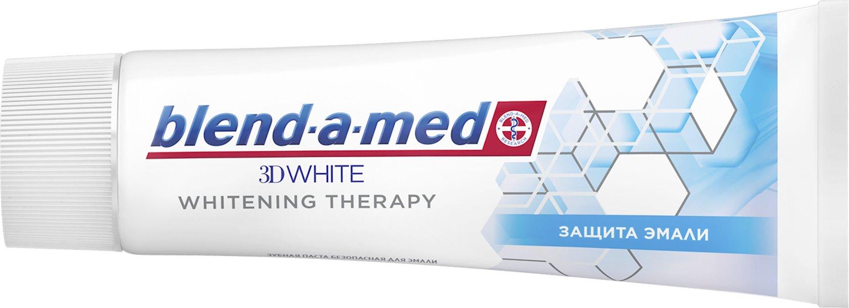 Diş məcunu Blend-a-med 3D White Whitening Therapy diş emalının müdafiəsi 75 ml