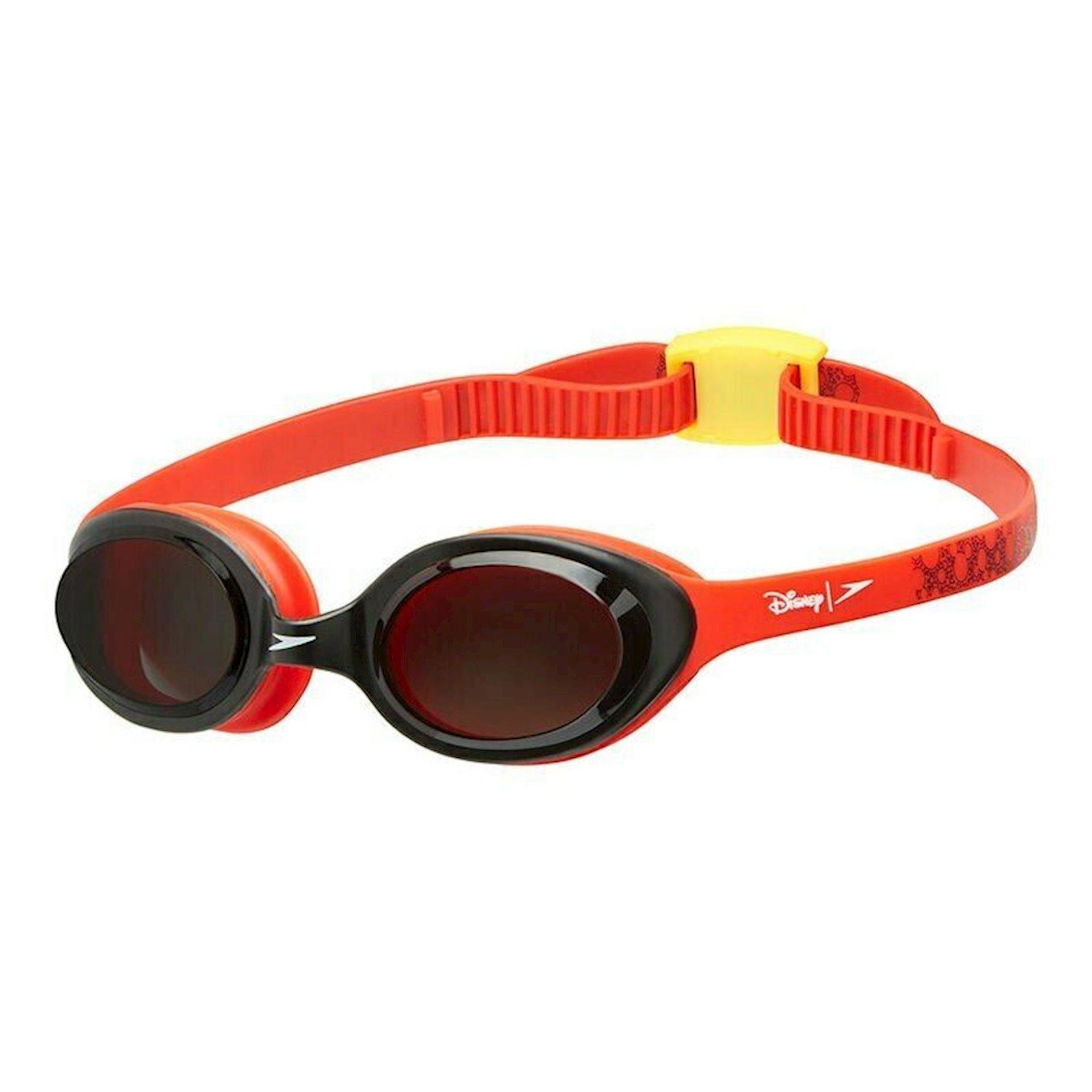 Üzgüçülük üçün eynək Speedo Junior Illusion Swimming Goggles Mickey Mouse from Ezi Sports, uşaqlar üçün, qırmızı
