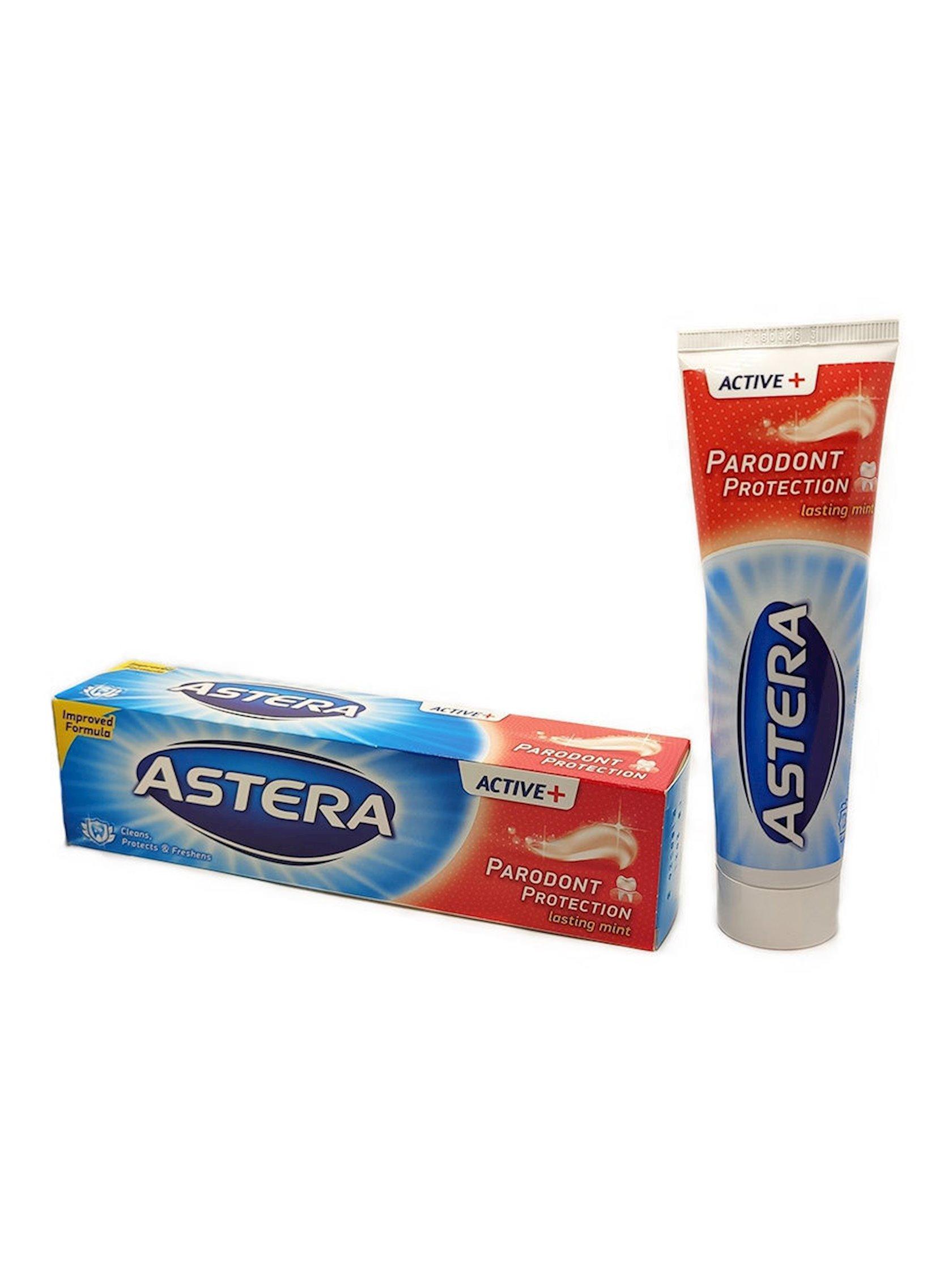 Diş məcunu Astera Active + Parodont Protection 100 ml