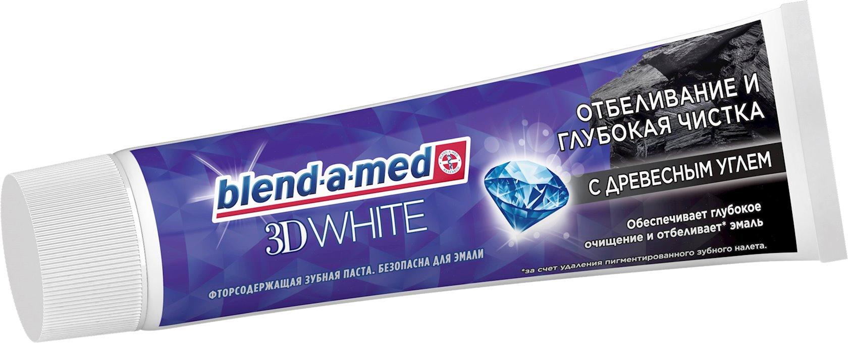 Diş məcunu Blend-a-med 3D White Dərin təmizləmə 100 ml