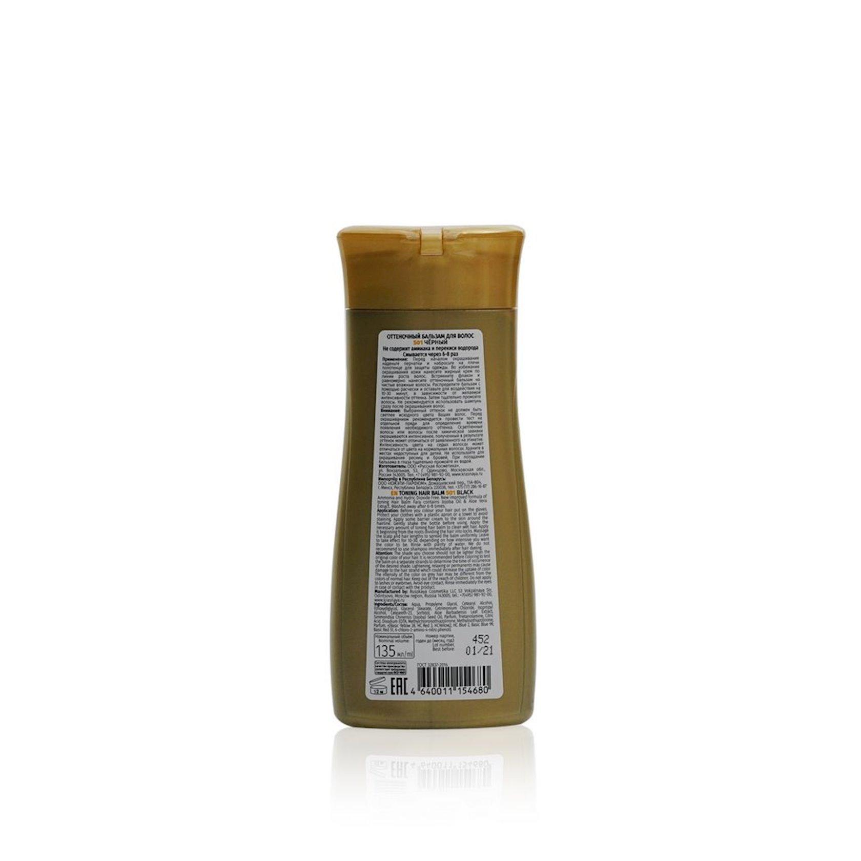 Çalar dəyişdirən balzam Fara 501 Qara 135 ml