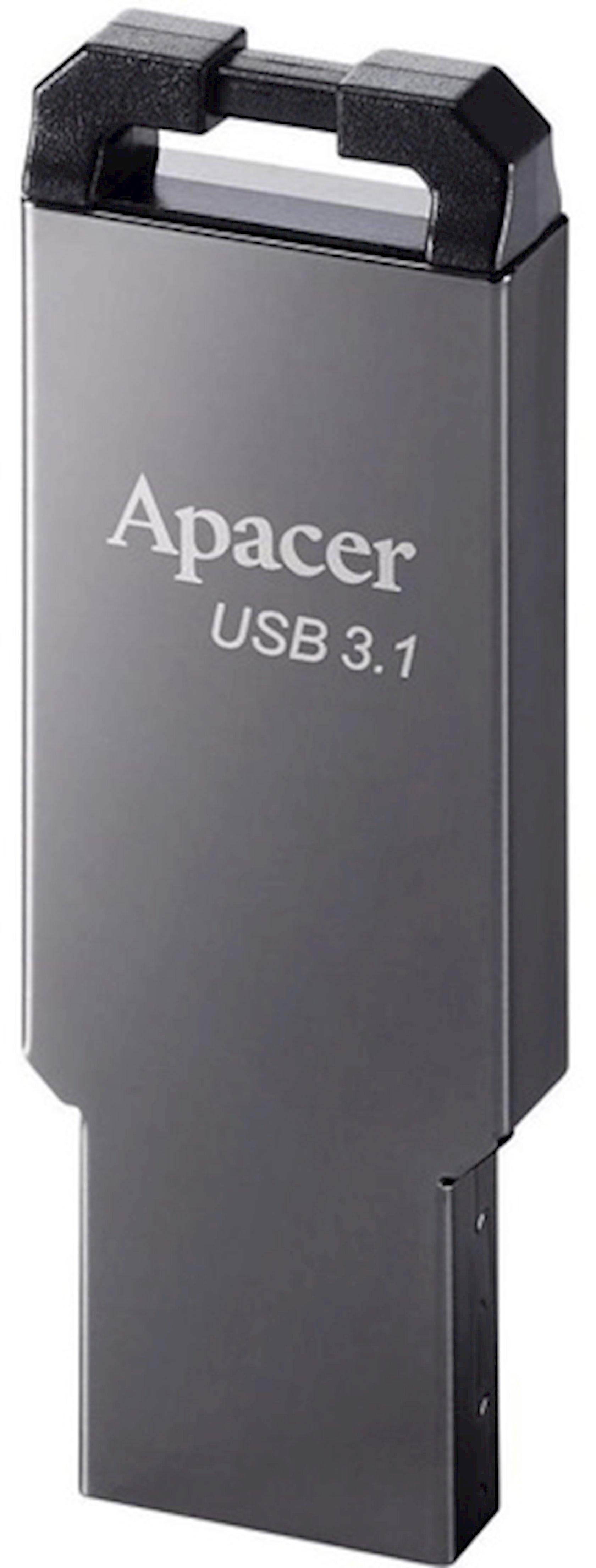 Fleş kart Apacer 16GB USB 3.1 AH360 Ashy
