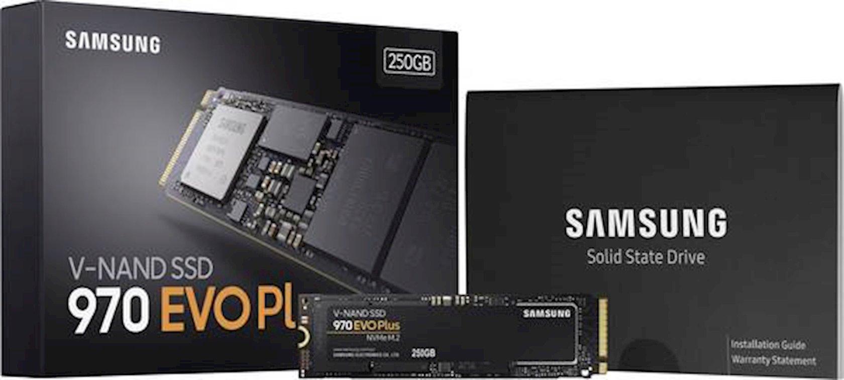 Sərt disk Samsung SSD S.970 Evo Plus 250GB