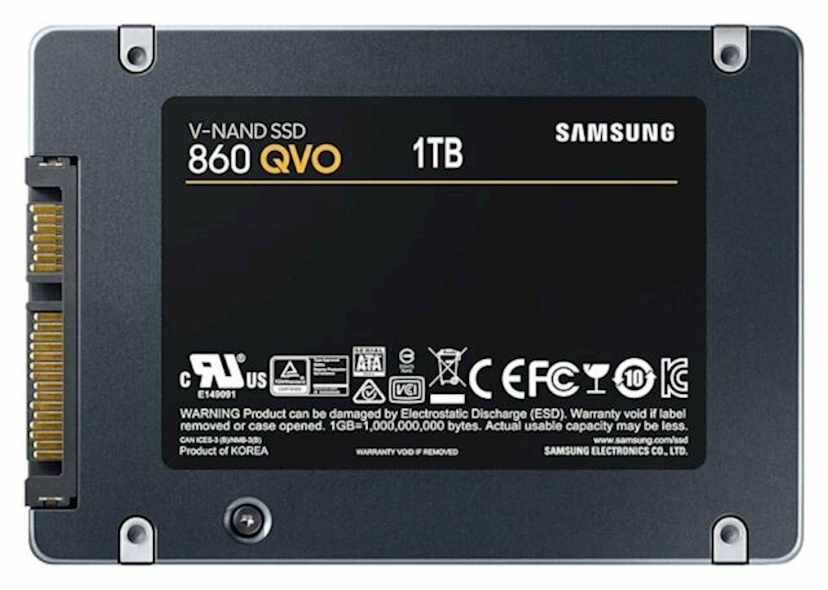 Daxili SSD yığıcı Samsung 860 QVO 1TB