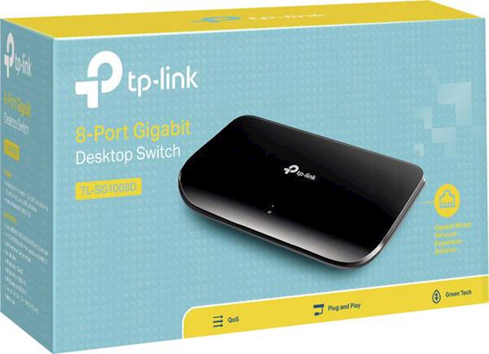 Əlaqələndirici TP-Link TL-SG1008D 1Gbps