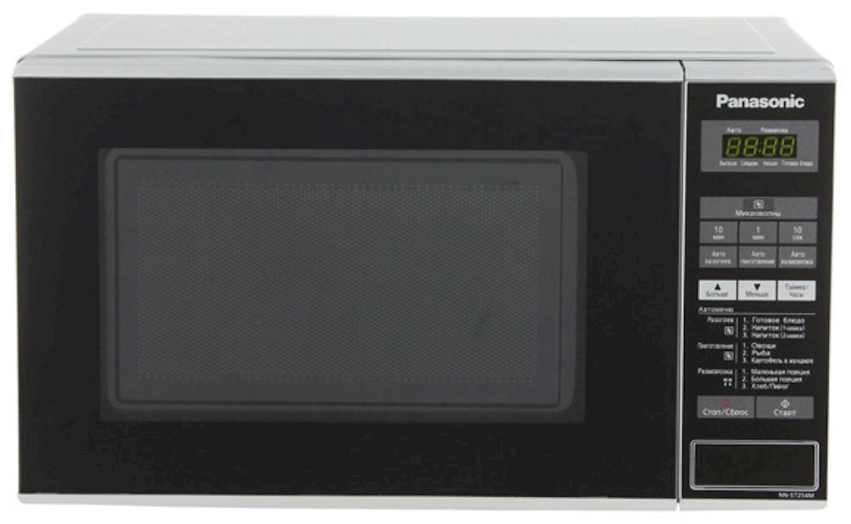 Микроволновая печь Panasonic NN-ST254MZPE 800W, чёрный