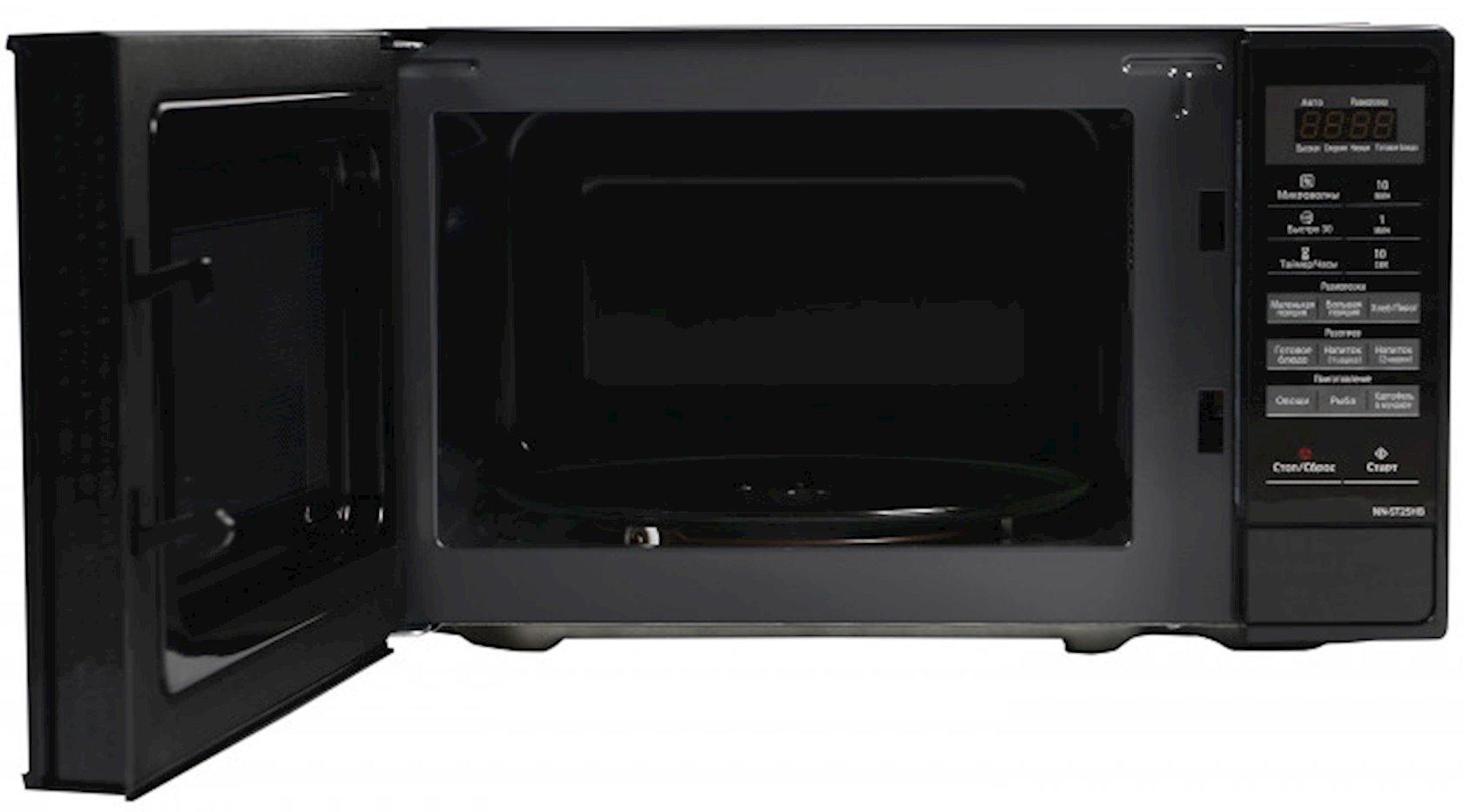 Микроволновая печь Panasonic NN-ST25HBZPE 800W, чёрный