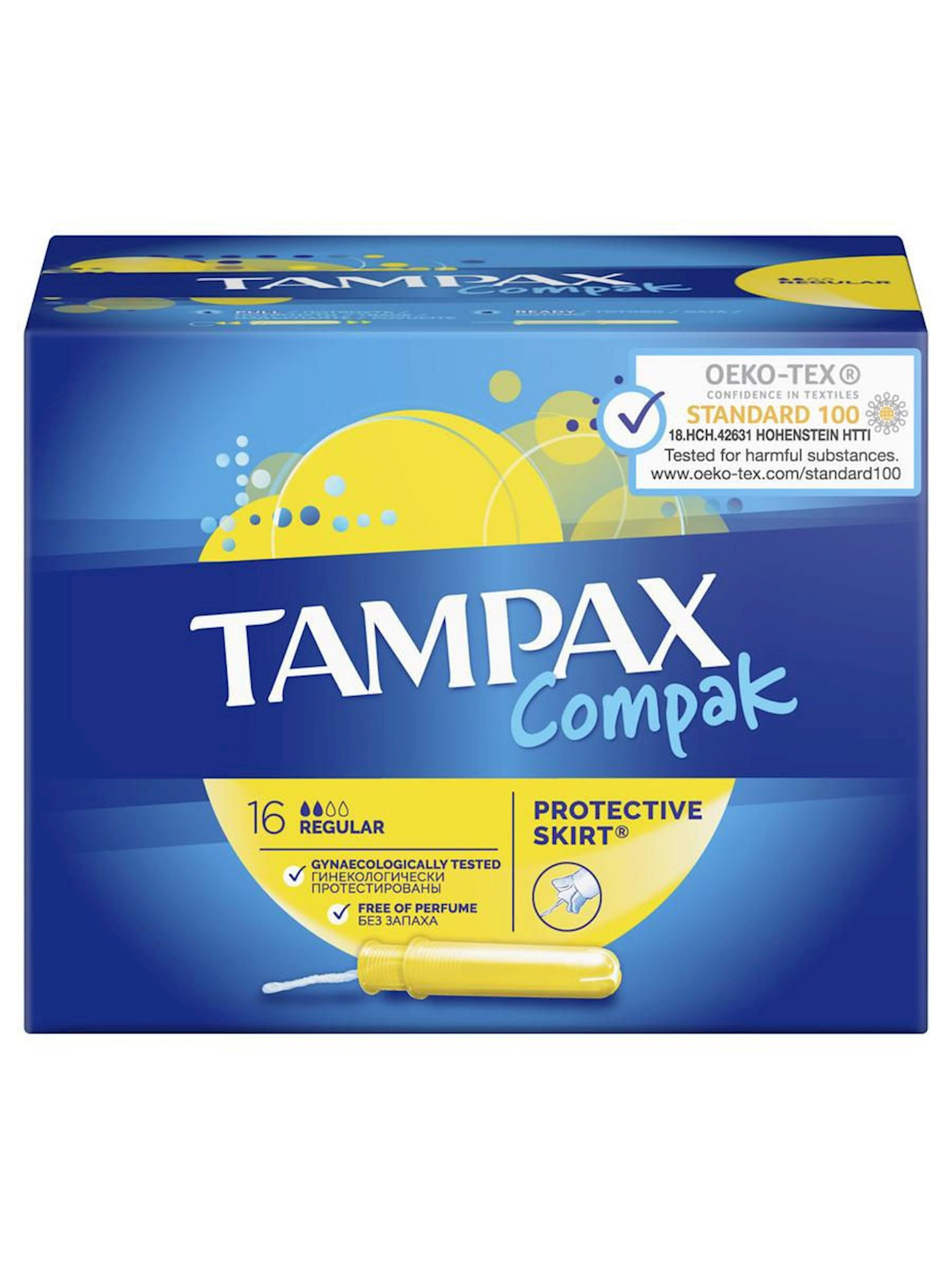 Discreet Tampax Compak Regular tamponları 16 əd