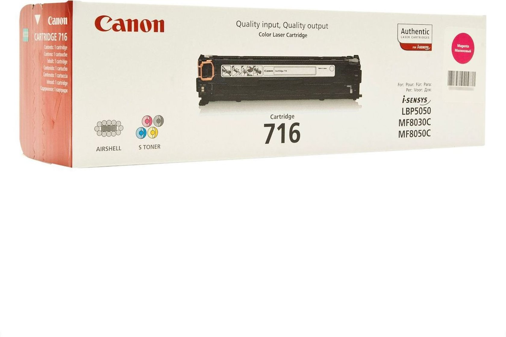 Toner-kartric Canon CRG716 Magenta