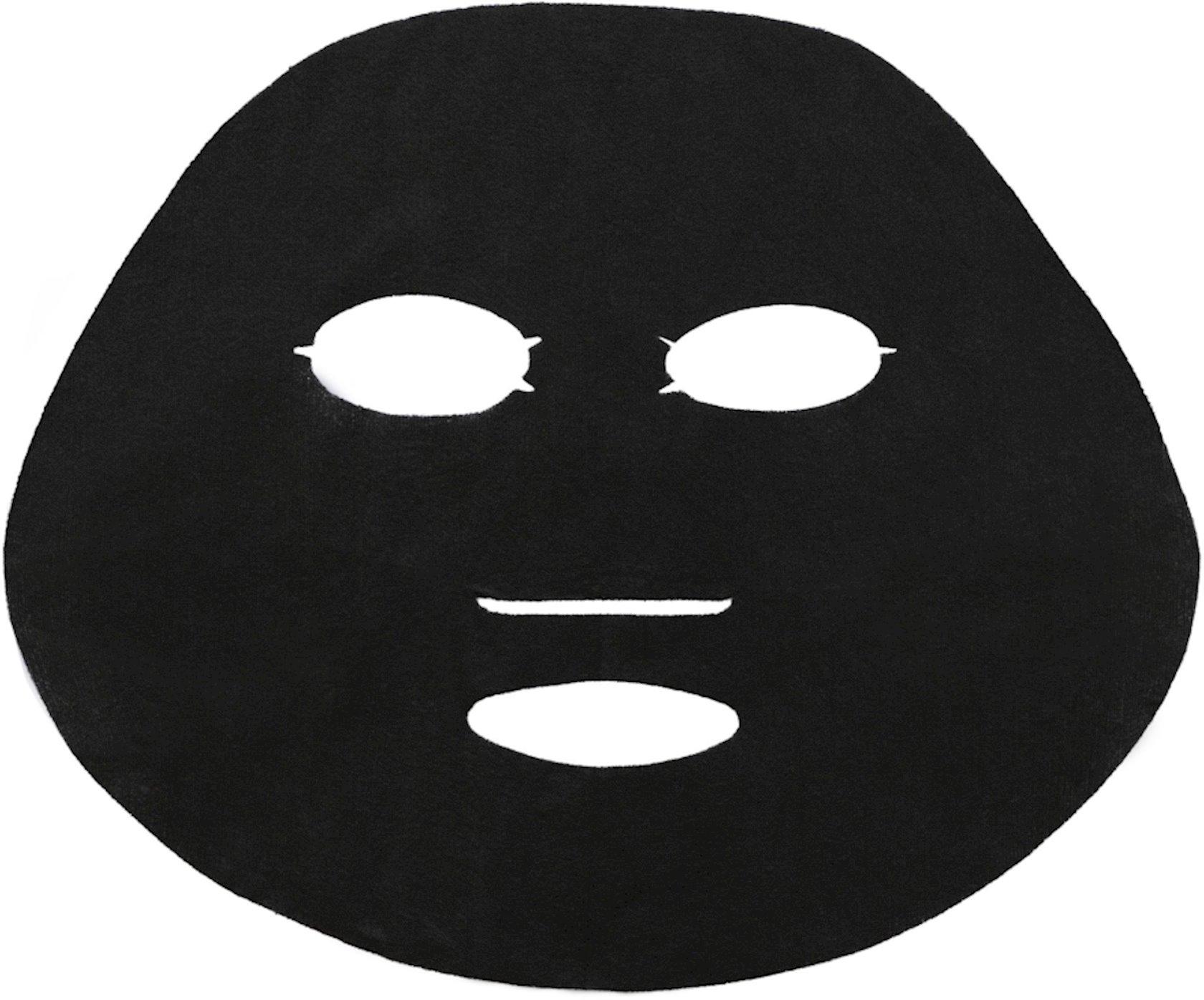 Qara parça maska Garnier Skin Naturals Təmizləyici kömür + Qara yosunlar
