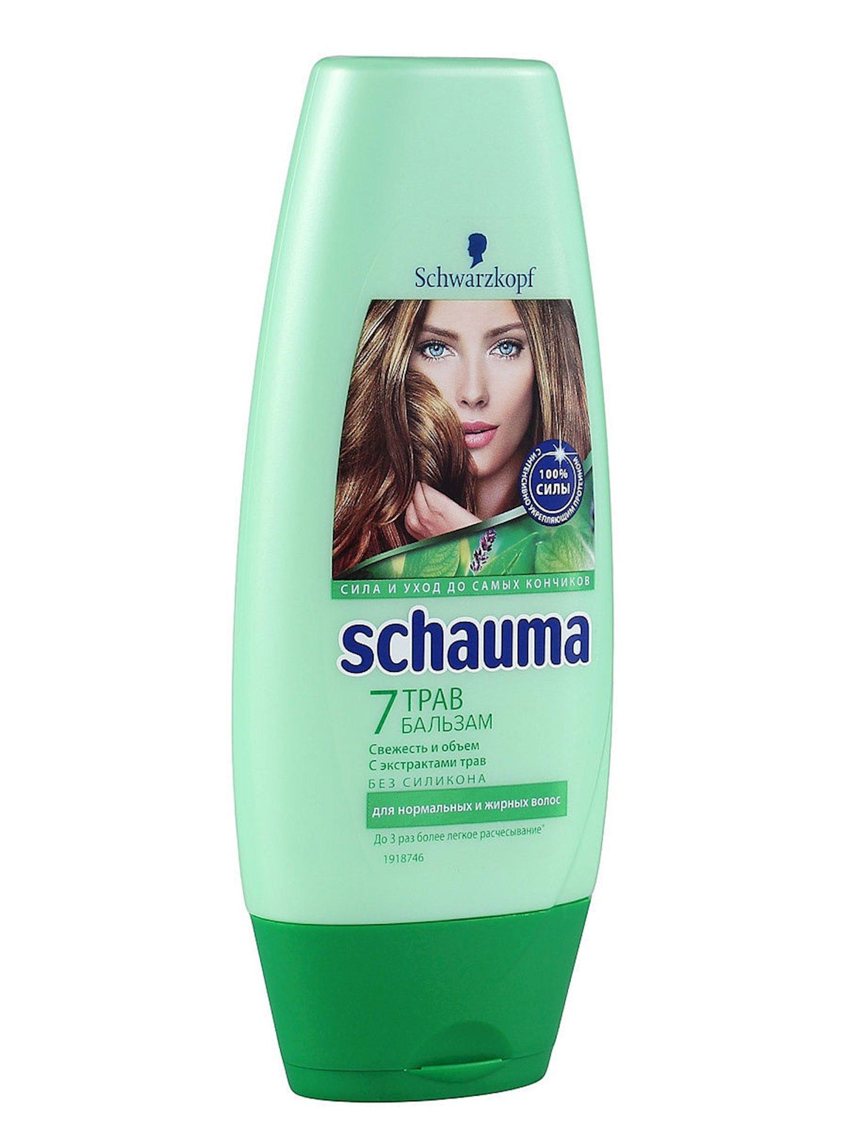 Zərdab saçlar üçün Schauma 7 Ot