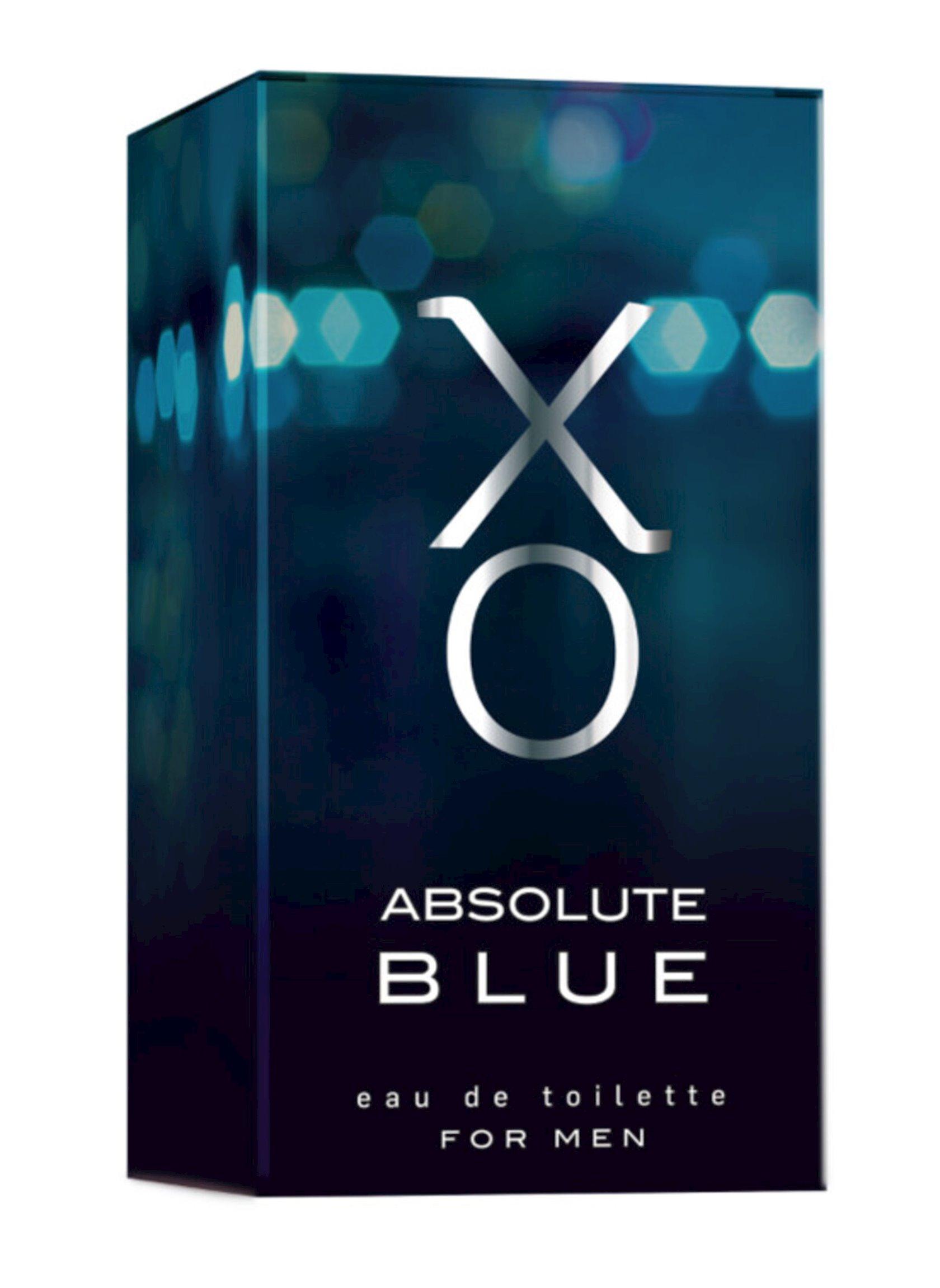 Tualet suyu kişilər üçün Xo Absolute Blue, 100 ml