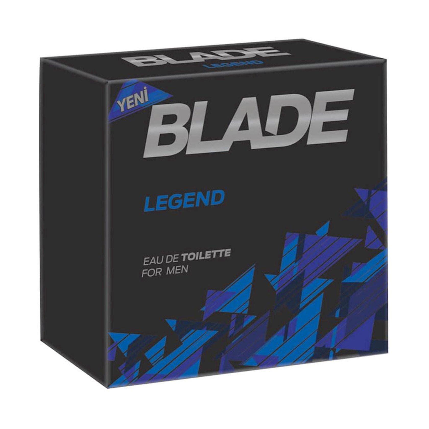 Tualet suyu kişilər üçün Blade Legend, 100 ml