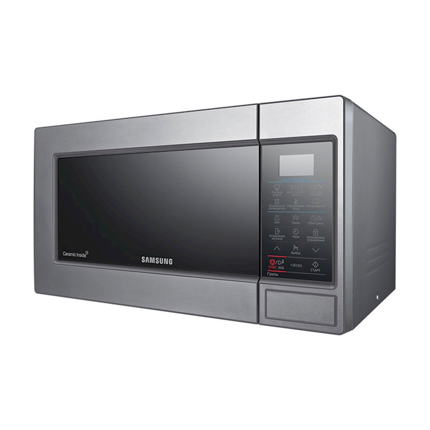 Микроволновая печь с грилем Samsung GE83MRTQS/BW