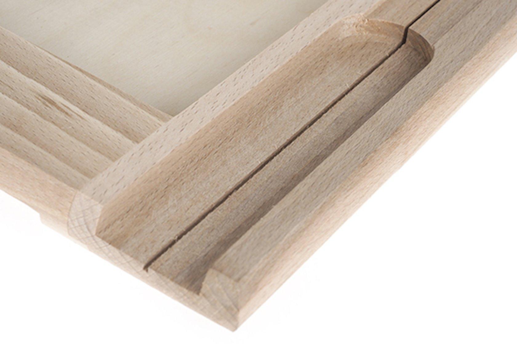 Taxtadan mətbəx taxtası AAA Wooden Bread Cutting Board, 36х29 sm