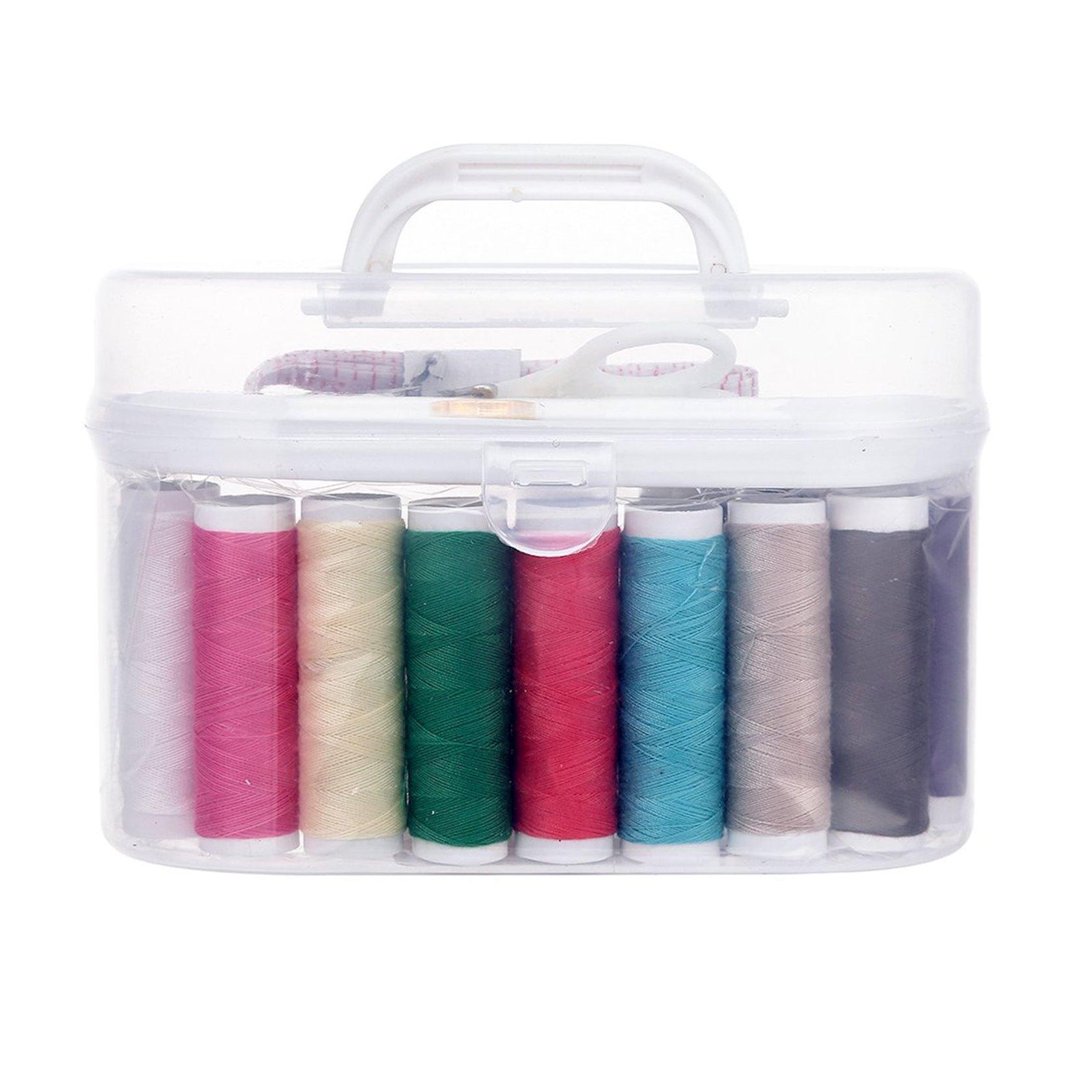 Tikiş dəsti Miniso Sewing Box, ağ, 16x8.5x9.5 sm