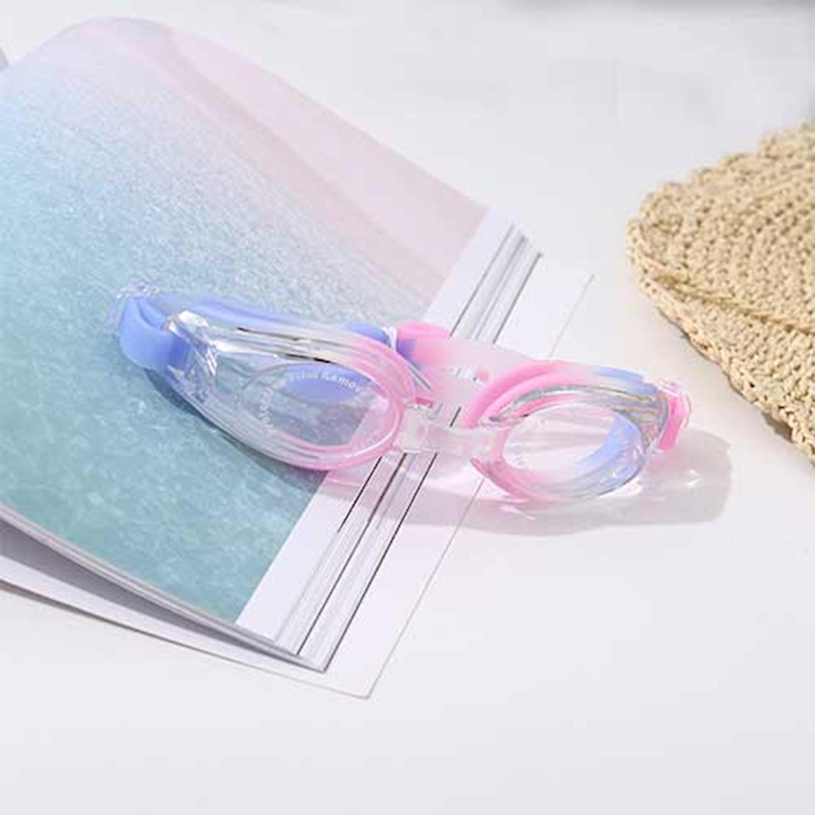 Üzgüçülük üçün eynək Ximivogue Fresh Style Colorful Swimming Goggles