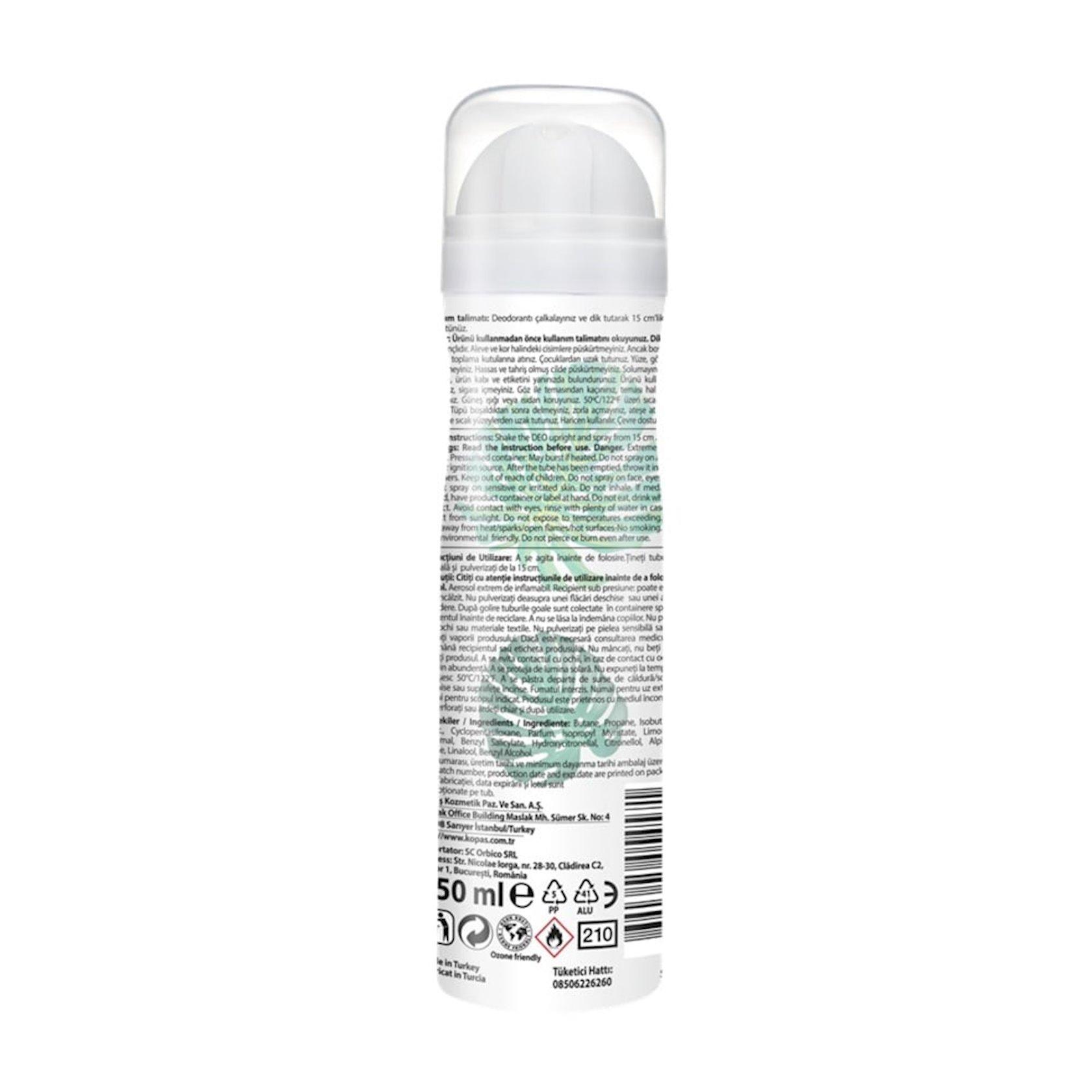 Dezodorant-sprey XO Aqua Joy 150 ml