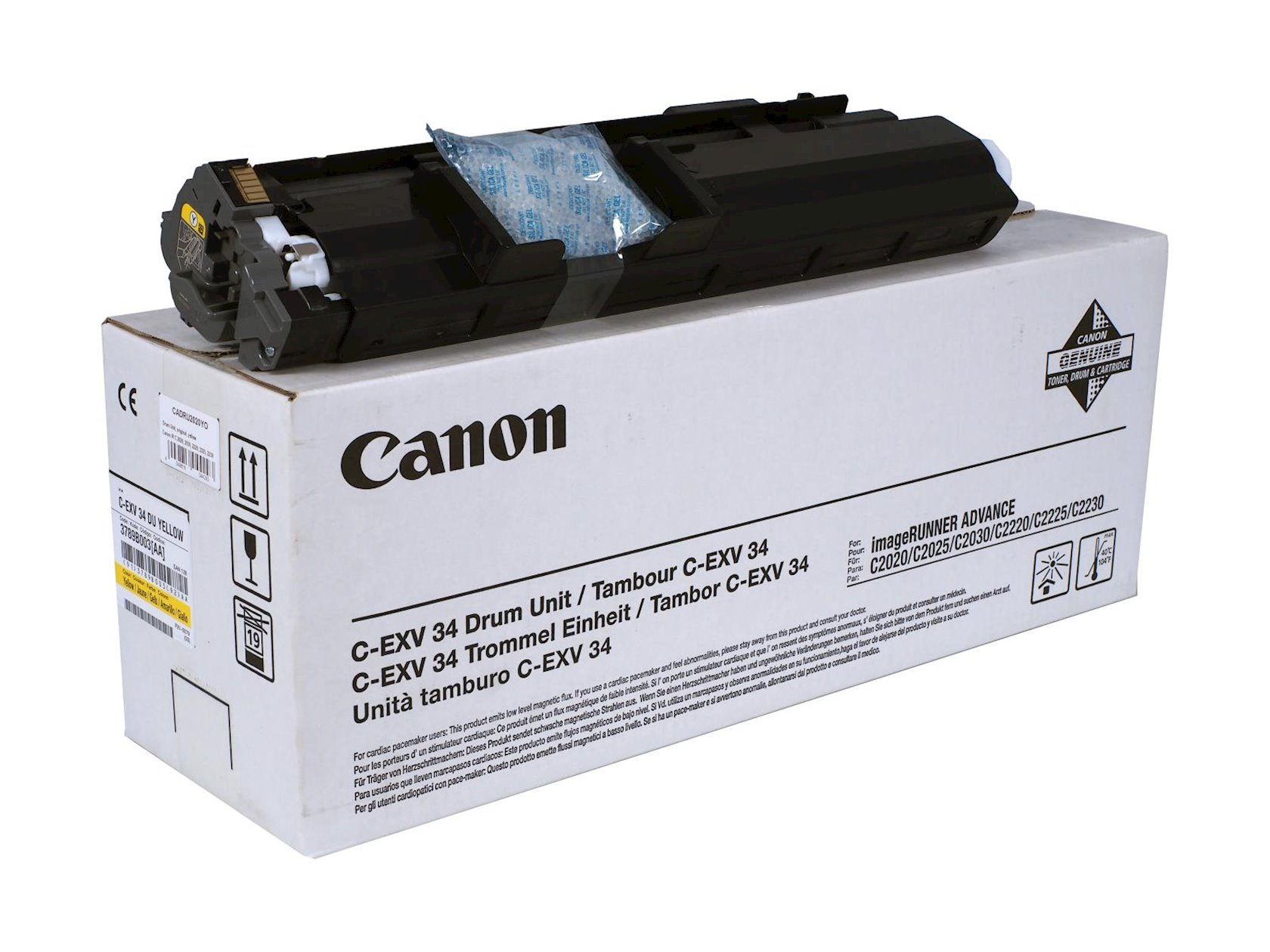 Fotobaraban Canon Drum unit CEXV34 Yellow