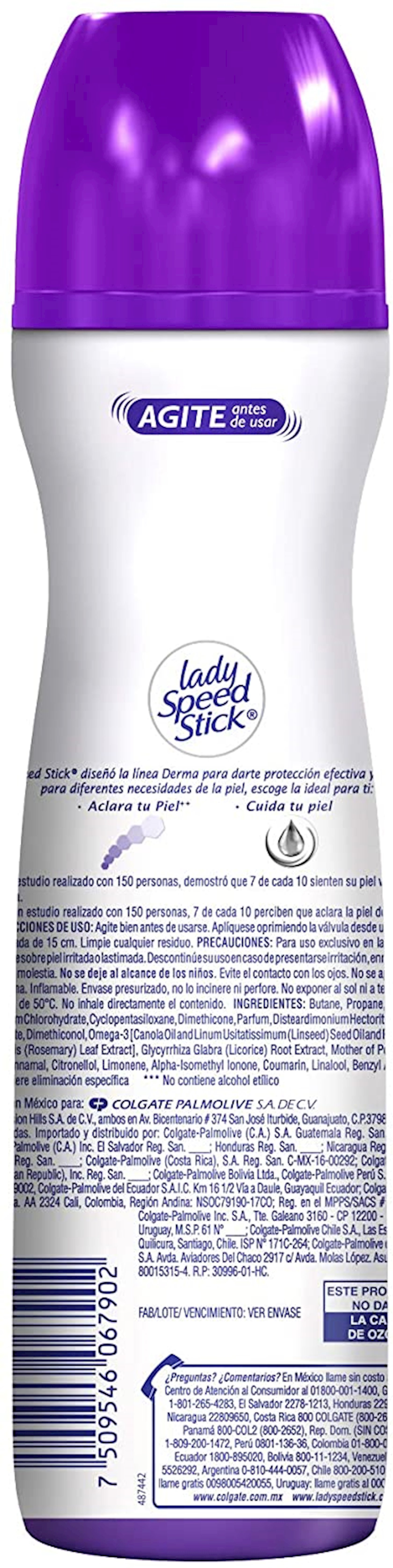 Dezodorant sprey Lady Speed Stick Derma və Omega 3 150 ml