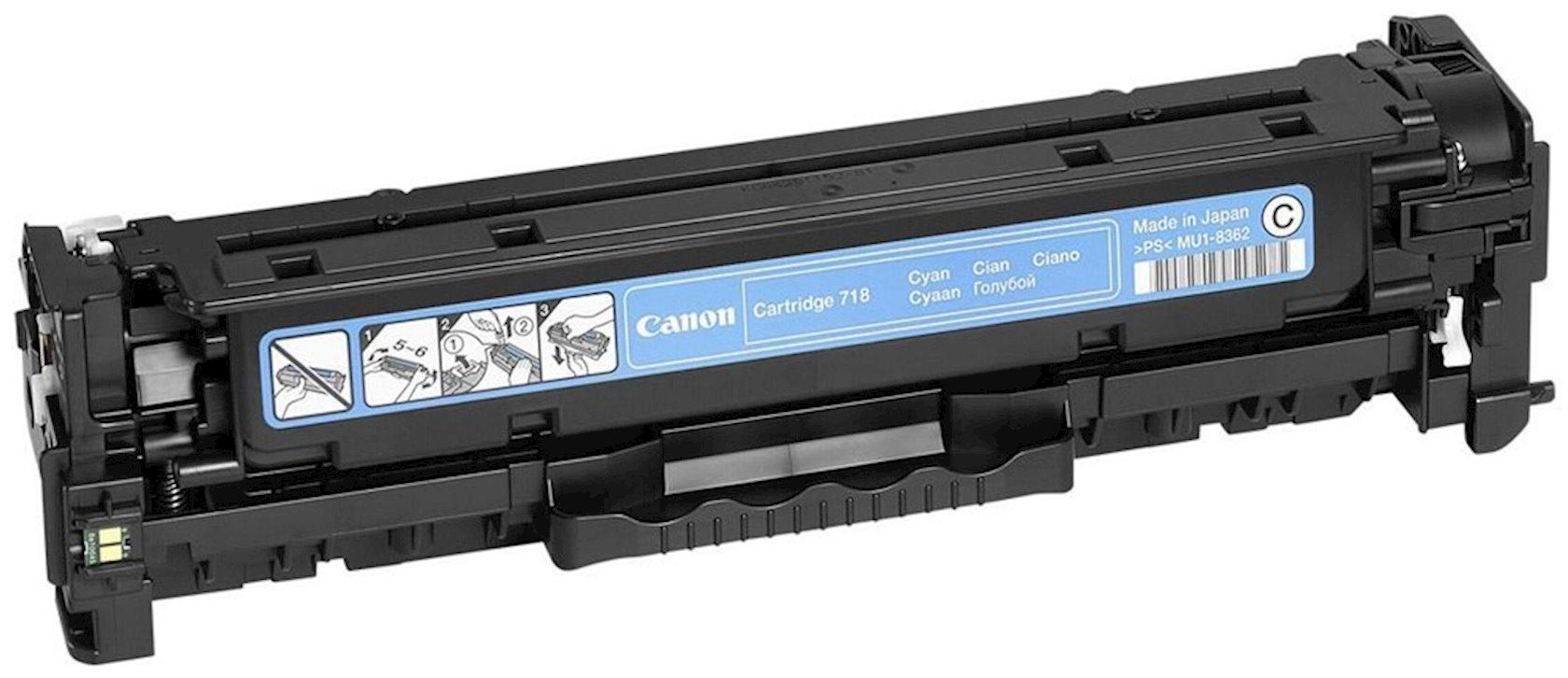 Toner-kartric Canon 718 Cyan