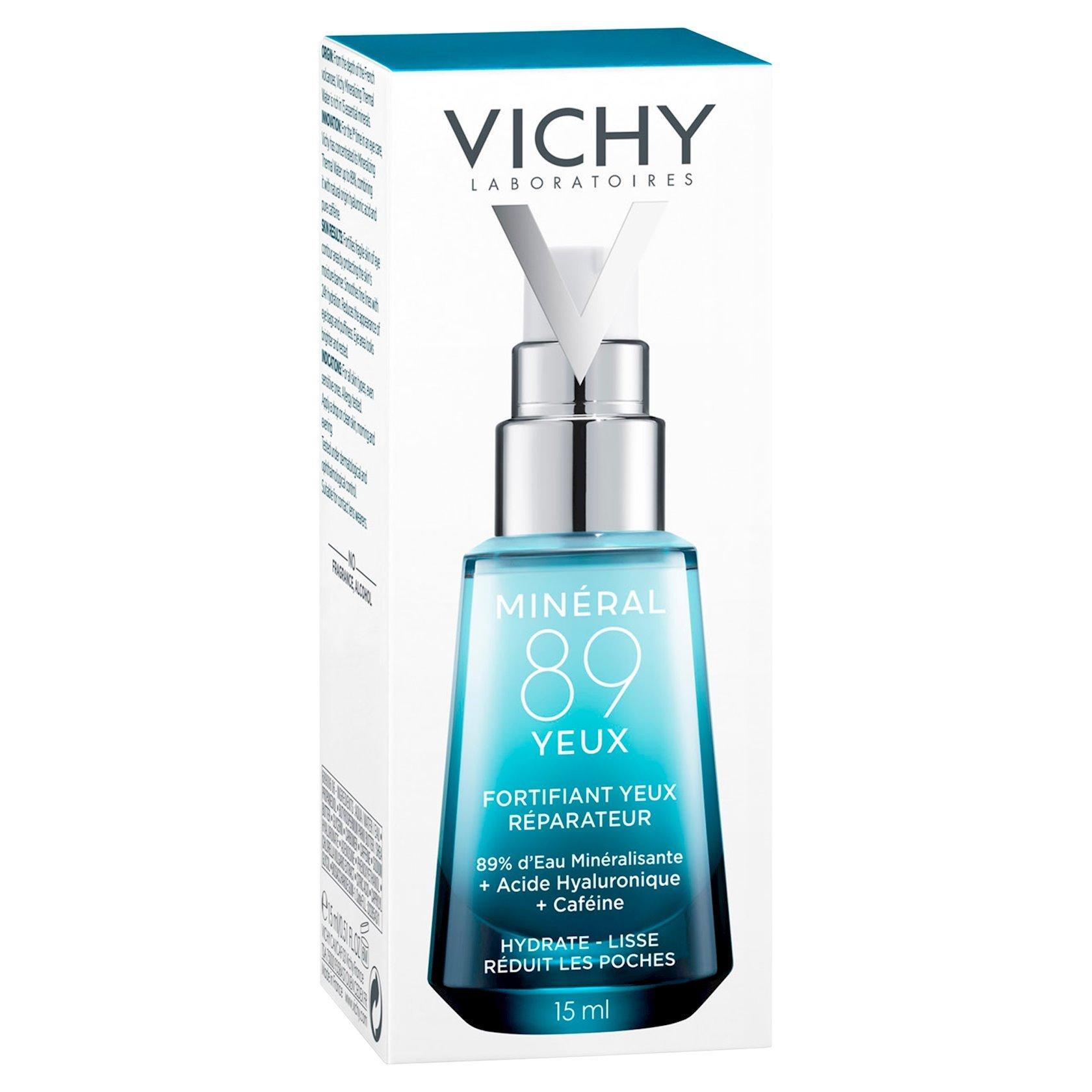 Göz ətrafı dəri üçün gel Vichy Mineral 89 Eyes 15 ml