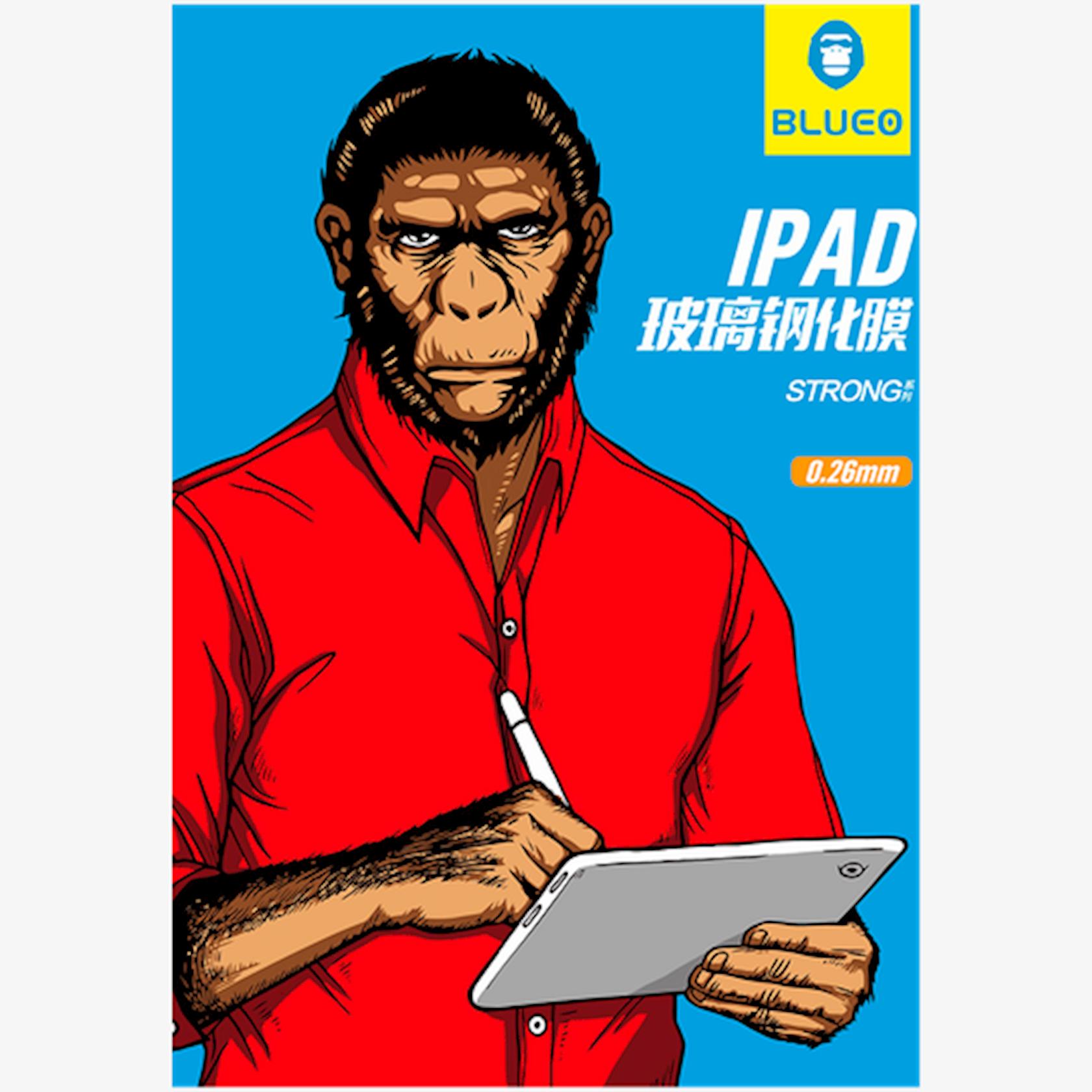 Qoruyucu şüşə Blueo Strong Tempered Glass Apple iPad 11 üçün