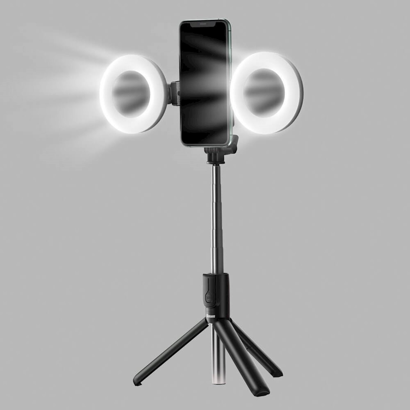 Ştativ  işıq Baseus Lovely Fill Light Accessories Selfie Ring Black