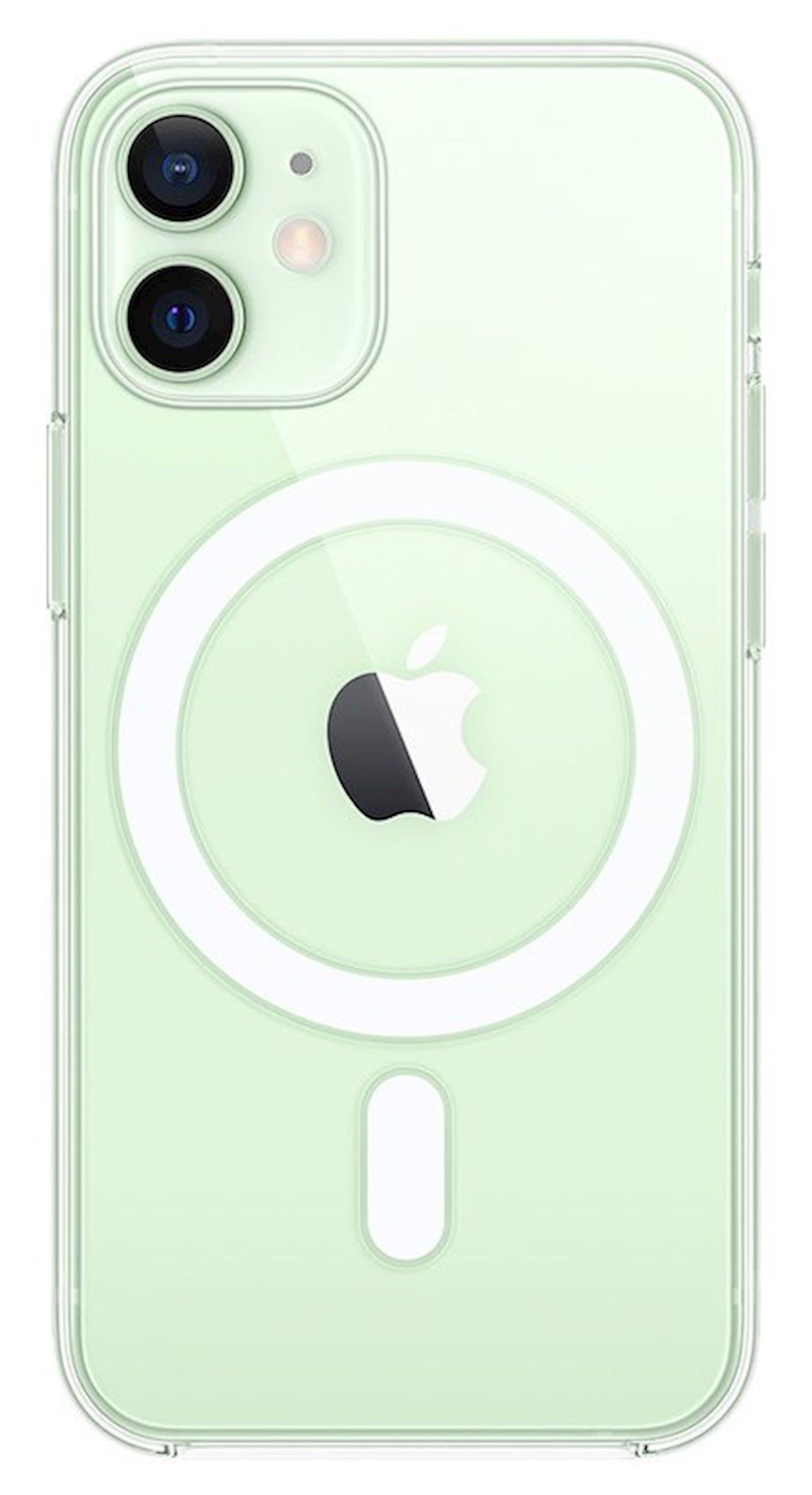 Çexol MagSafe Case Apple  iPhone 12 mini üçün Transparent