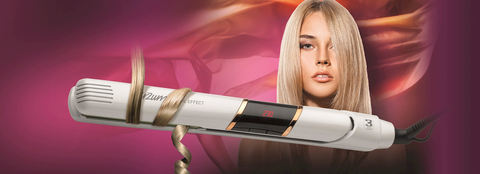 Saç düzləndiricisi Arzum Pearl Effect AR5044