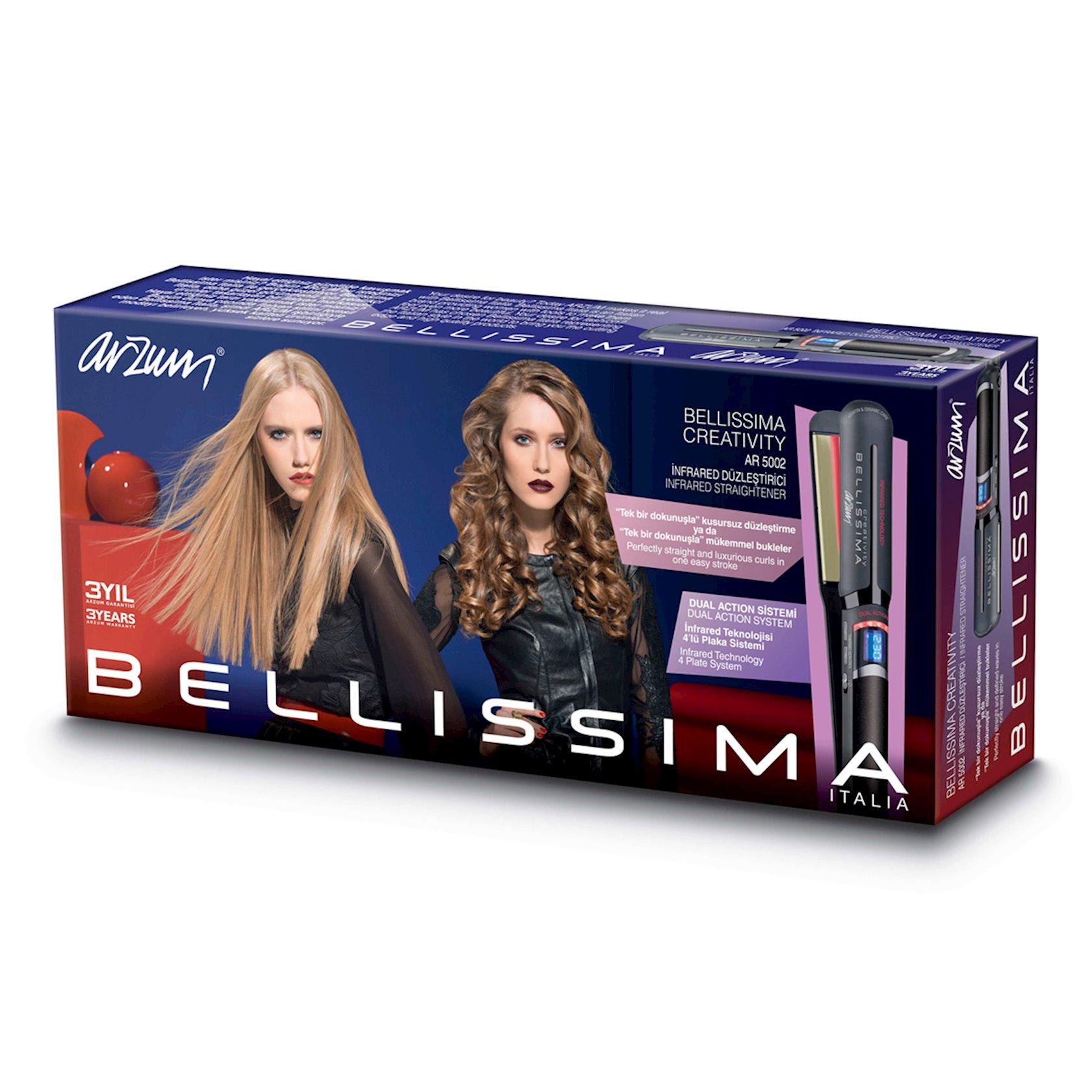 Saç düzləndiricisi Arzum AR5002 Bellissima Creativity Infrared, qara