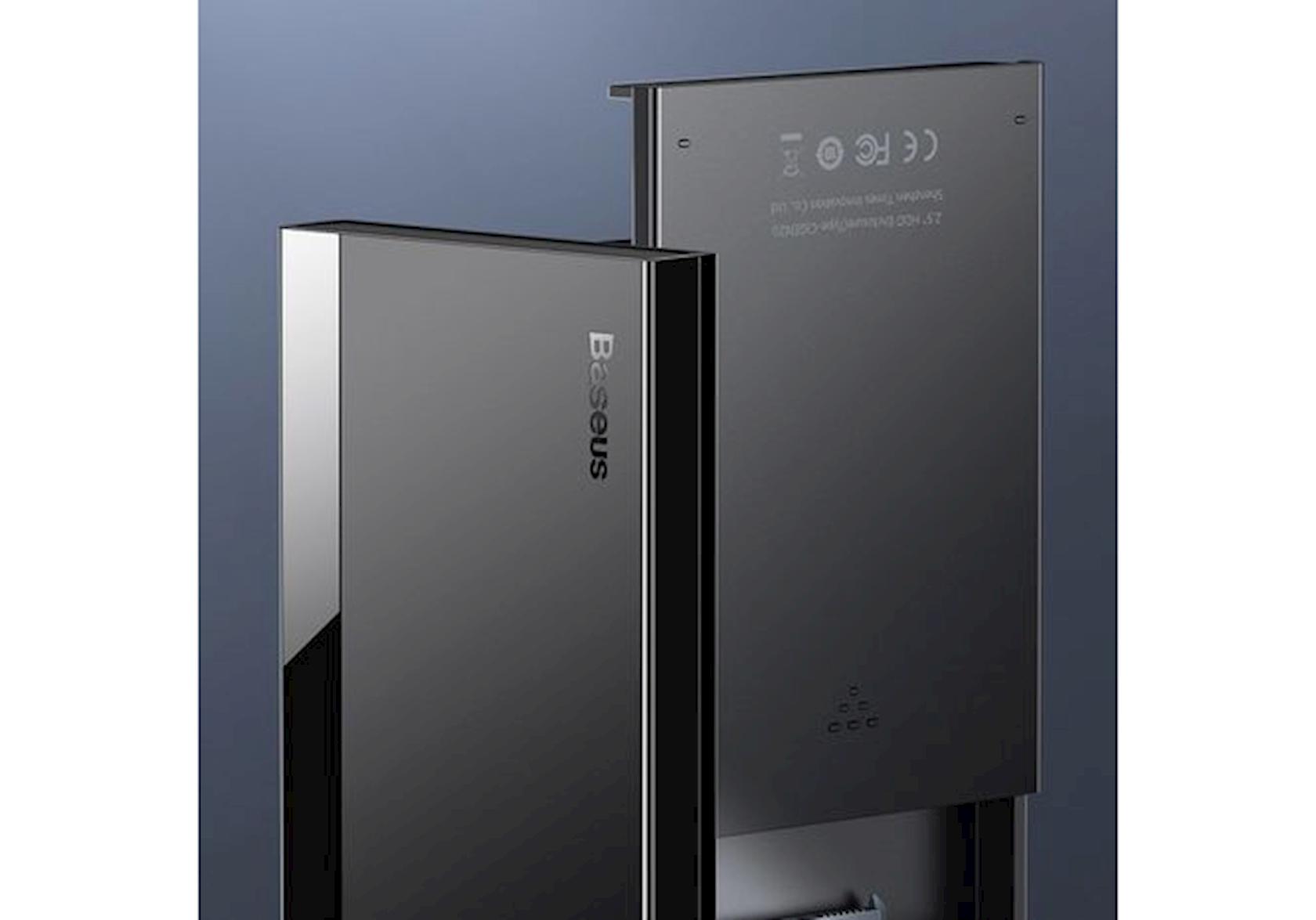 Sərt disk üçün xarici korpus Baseus Full Speed Series HDD Enclosure Type-C Black