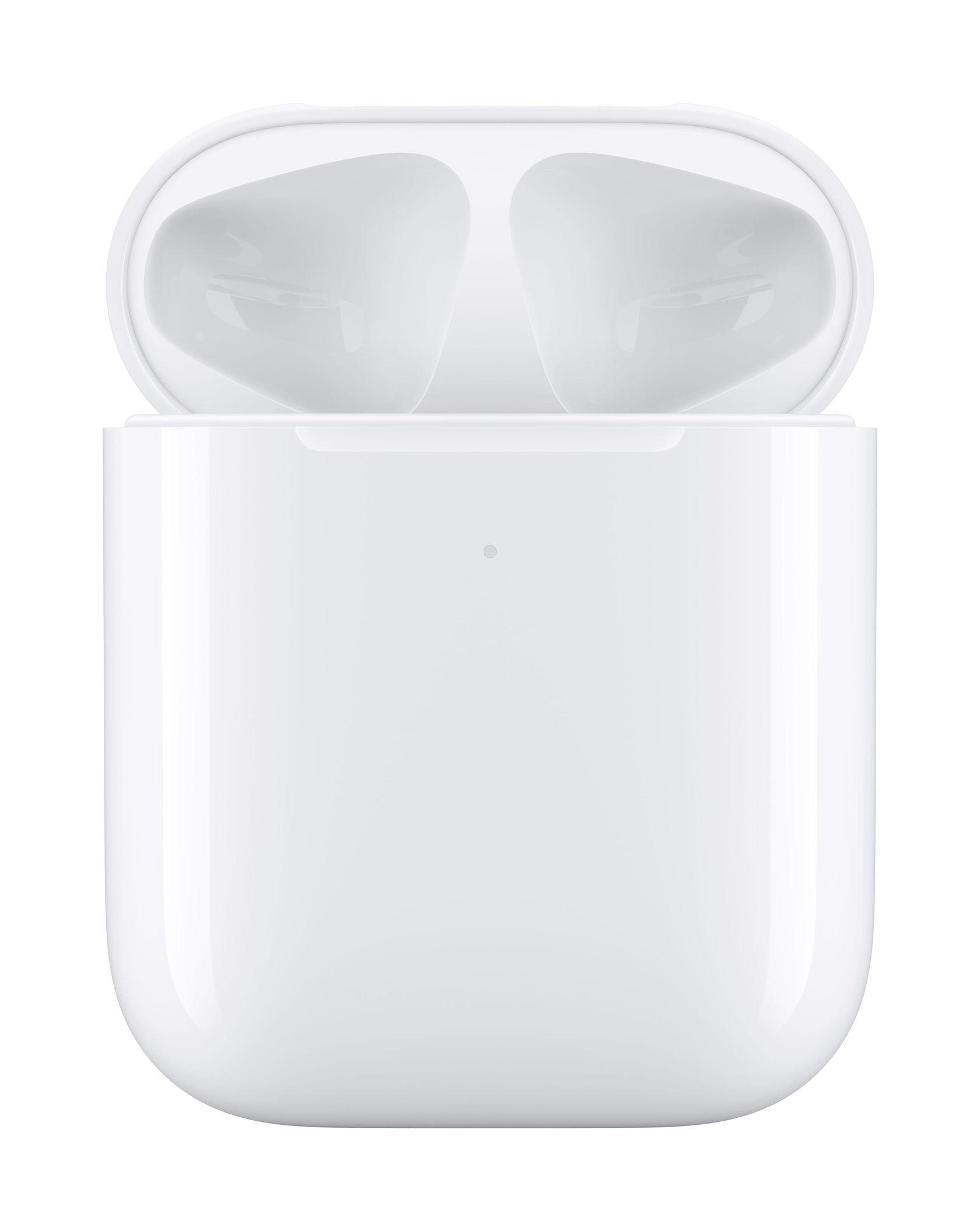 Simsiz qulaqlıqlar Apple AirPods 2-ci nəsil with Wireless Charging Case (simsiz enerji toplama futlyar ilə)