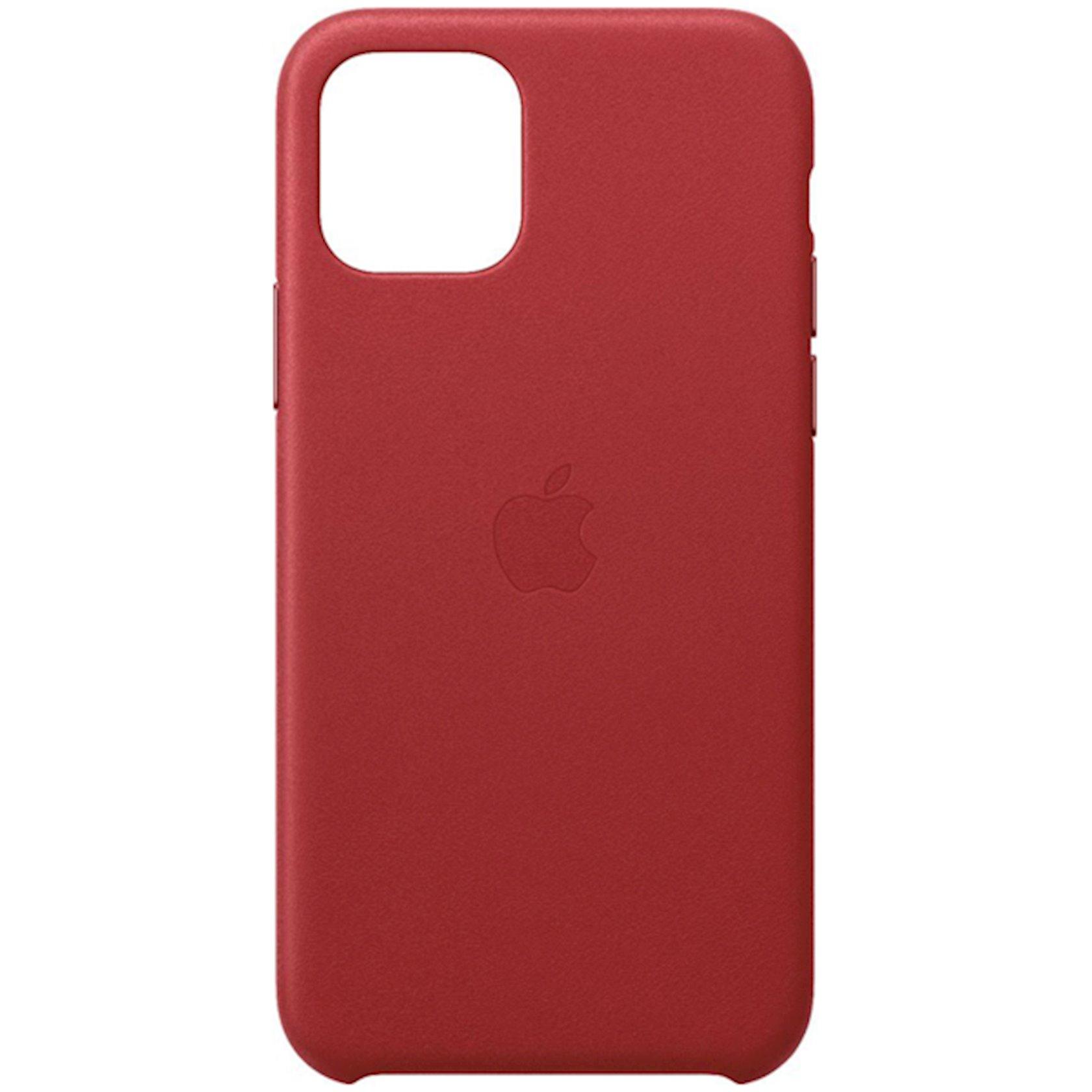 Çexol Leather Case Apple iPhone 11 Pro üçün  Red