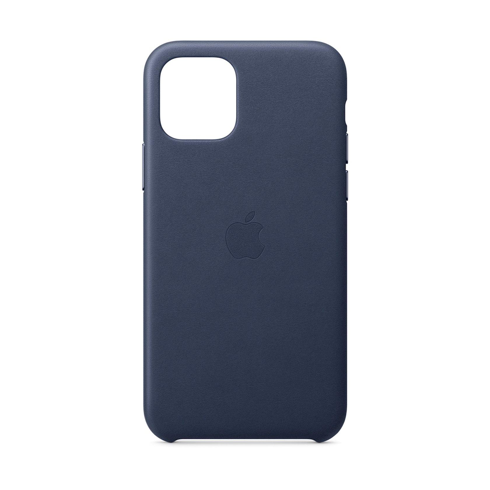 Çexol Leather Case Apple iPhone 11 Pro üçün  Midnight Blue