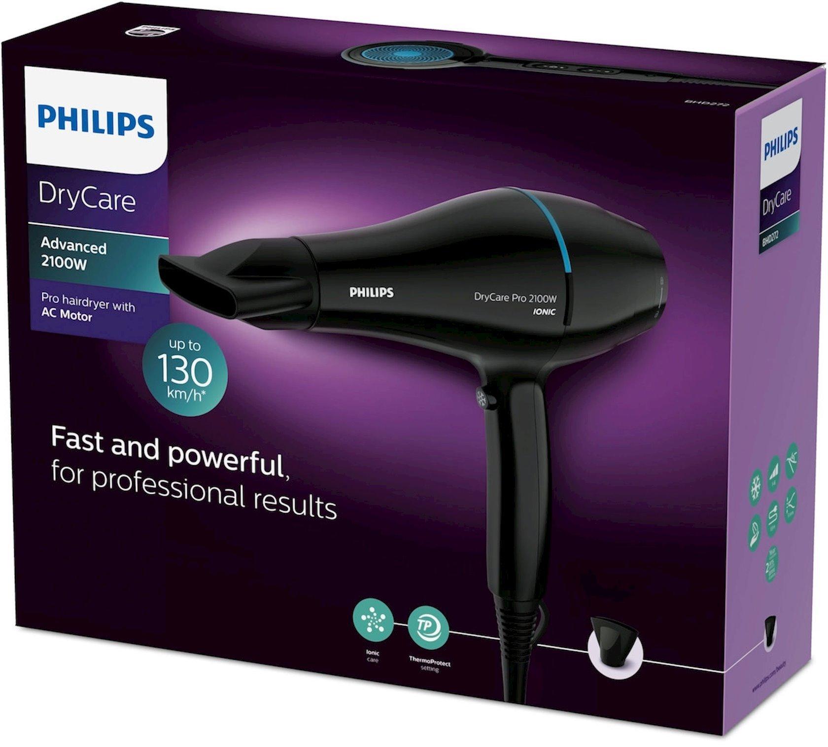 Fen Philips DryCare BHD272/00 Black