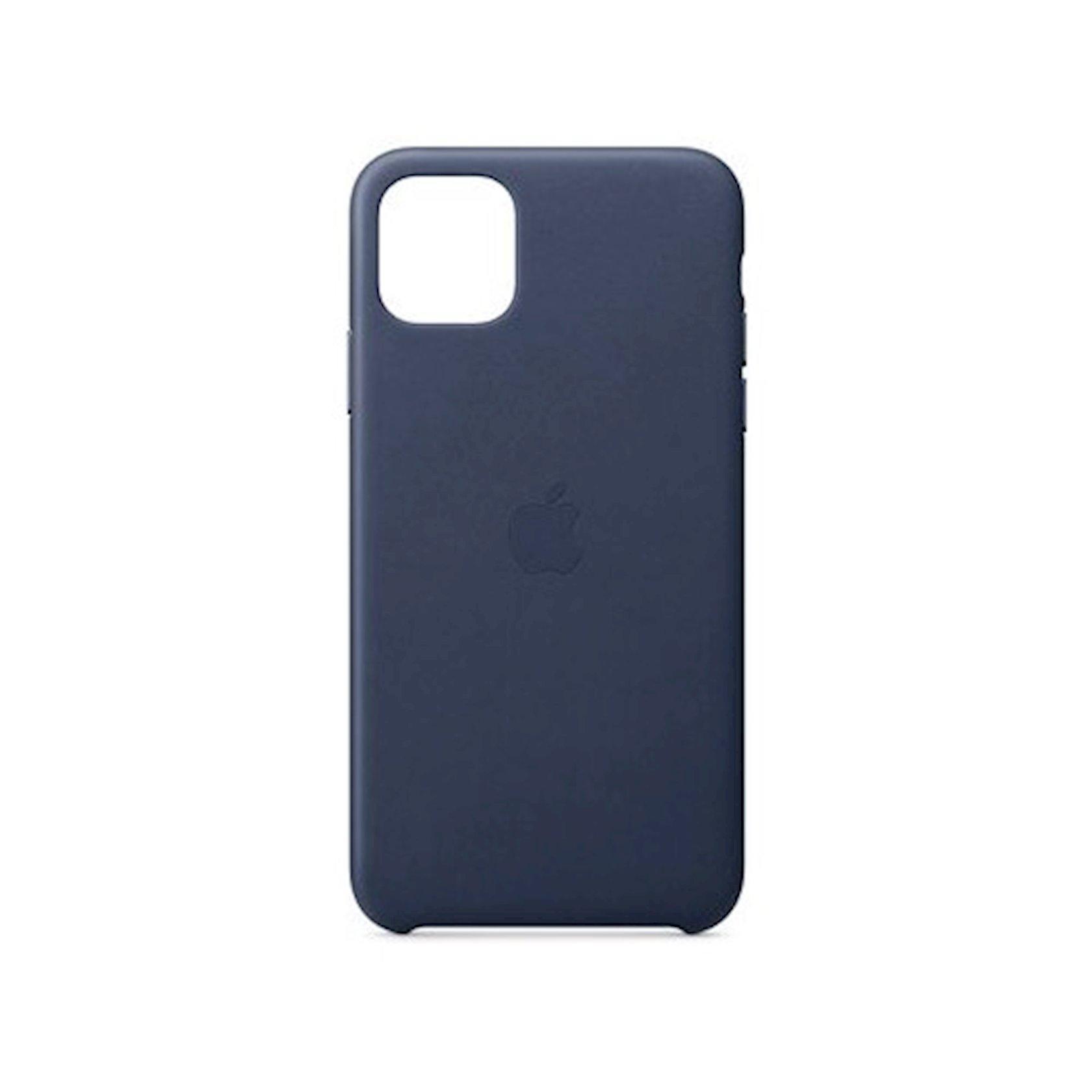 Çexol Leather Case Apple iPhone 11 Pro Max üçün Midnight Blue