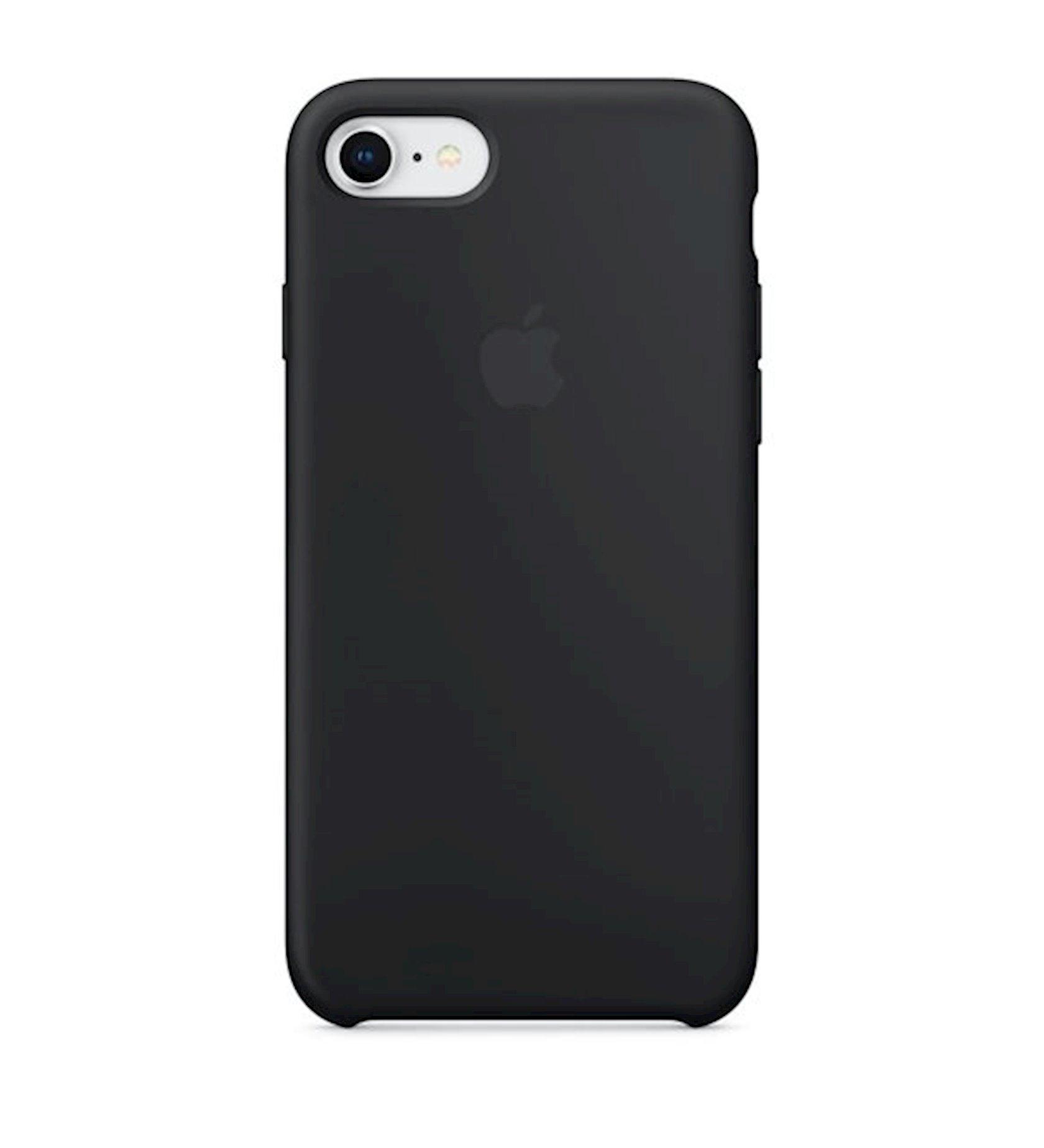 Çexol Silicone Case Apple iPhone 8/7 /SE 2020 üçün  Black