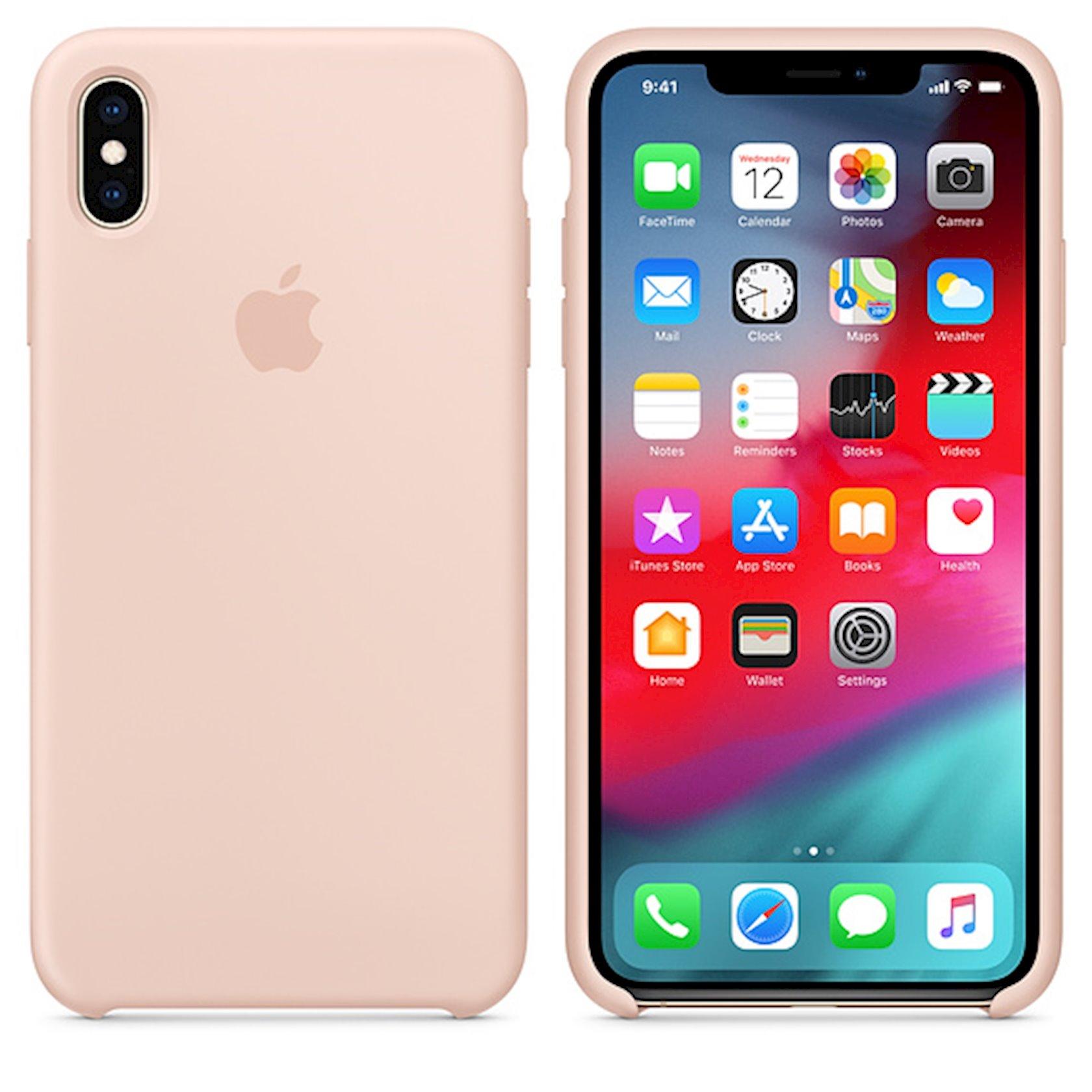 Çexol Apple iPhone XS Max üçün  Pink Sand