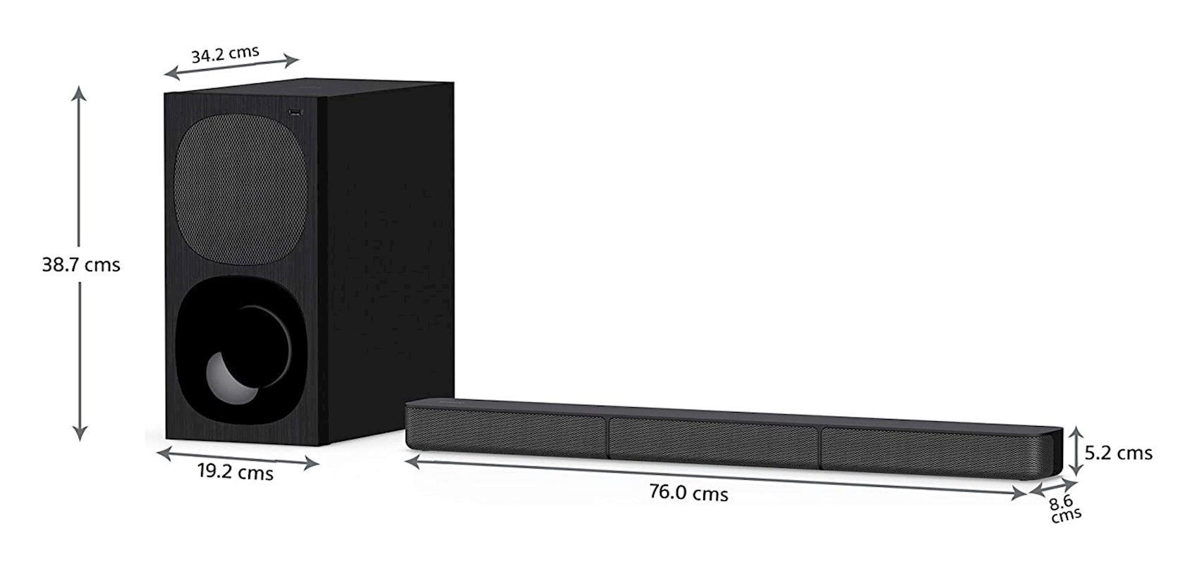 Ev kinoteatrı Sony Speaker HT-S20R