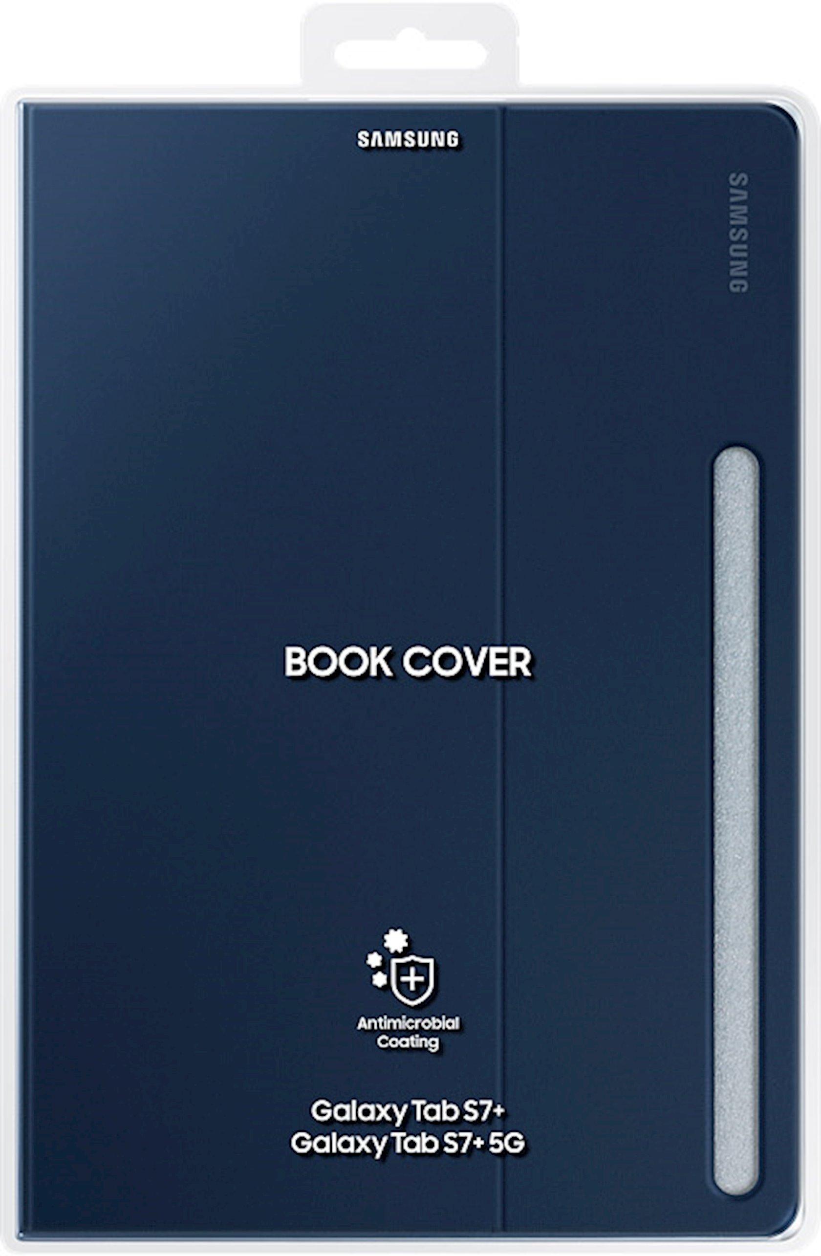 Çexol Samsung Book Cover Tab S7+ (EF-BT970PNEGRU)