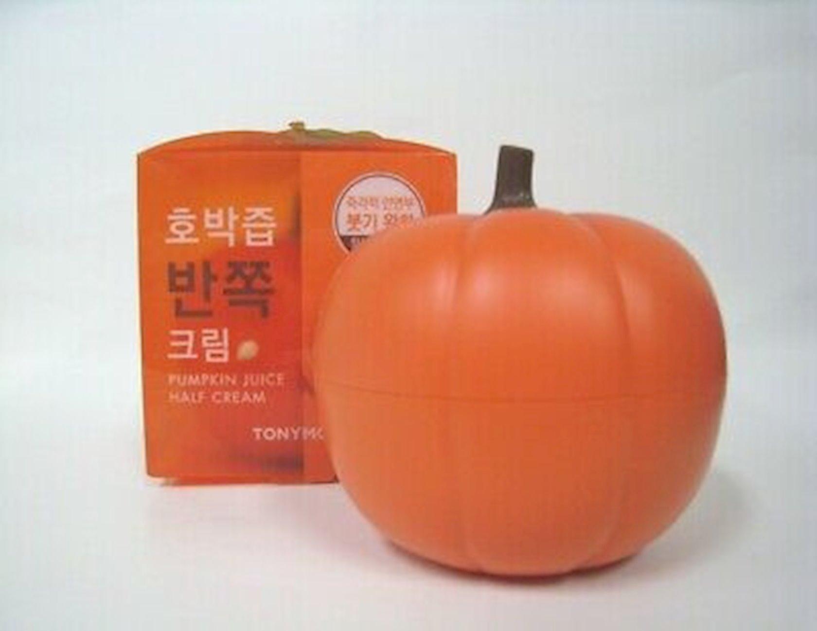 Üz üçün krem Tony Moly Pumpkin Juice Half Face Cream 90 ml
