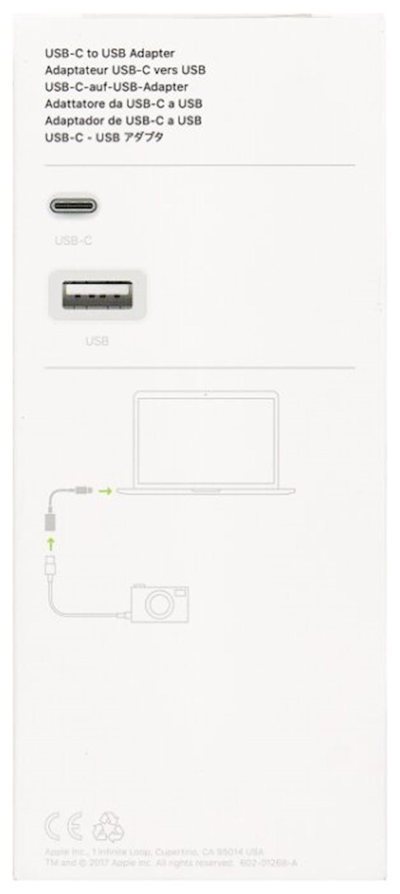 Çevirici Apple USB - USB Type-C