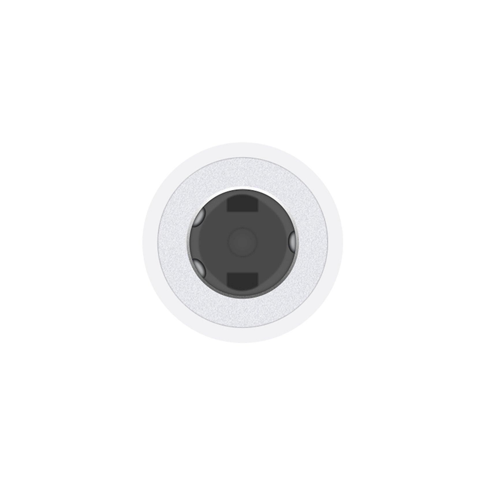 Adapter Apple Lightning/3, 5 mm qulaqlıq çıxışı