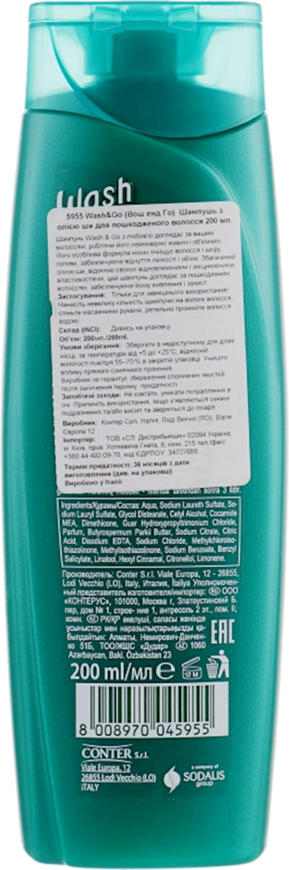 Şampun Wash&Go Shea Butter zədələnmiş saçlar üçün 200 ml