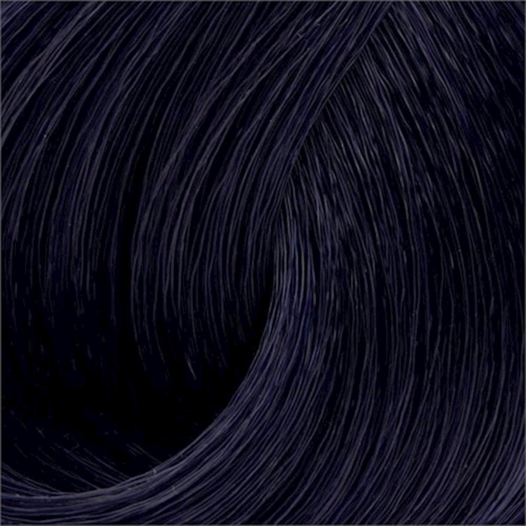 Saç üçün qalıcı krem boya Exicolor Permanent Hair Color Cream 100 ml №1.1 Mavi Siyah, Göy-qara