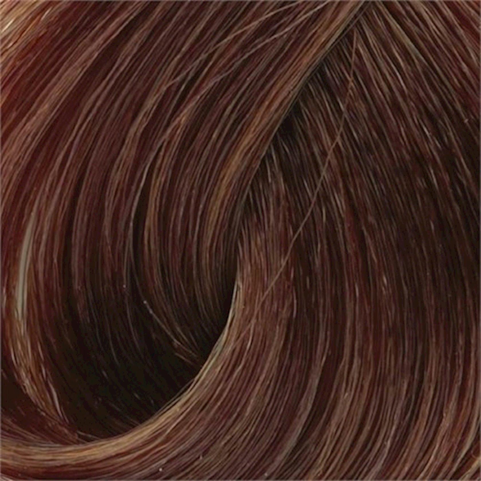Saç üçün qalıcı krem boya Exicolor Permanent Hair Color Cream 100 ml №6.3 Fındık Kabuğu, Fındıq qabığı